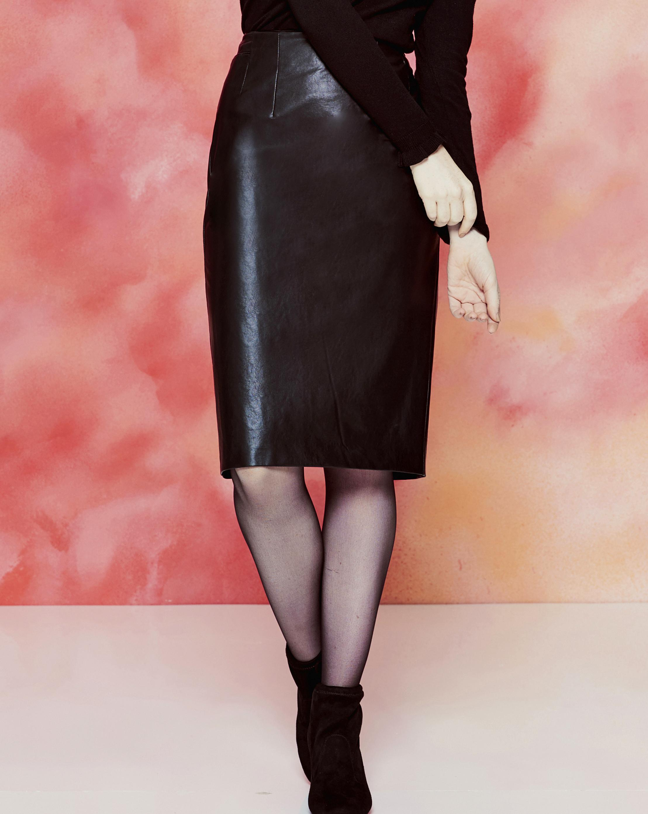 be47a8d5ead7 Gallery. Previously sold at: Simply Be · Women's Leather Skirts Women's Pencil  Skirts Women's Black ...