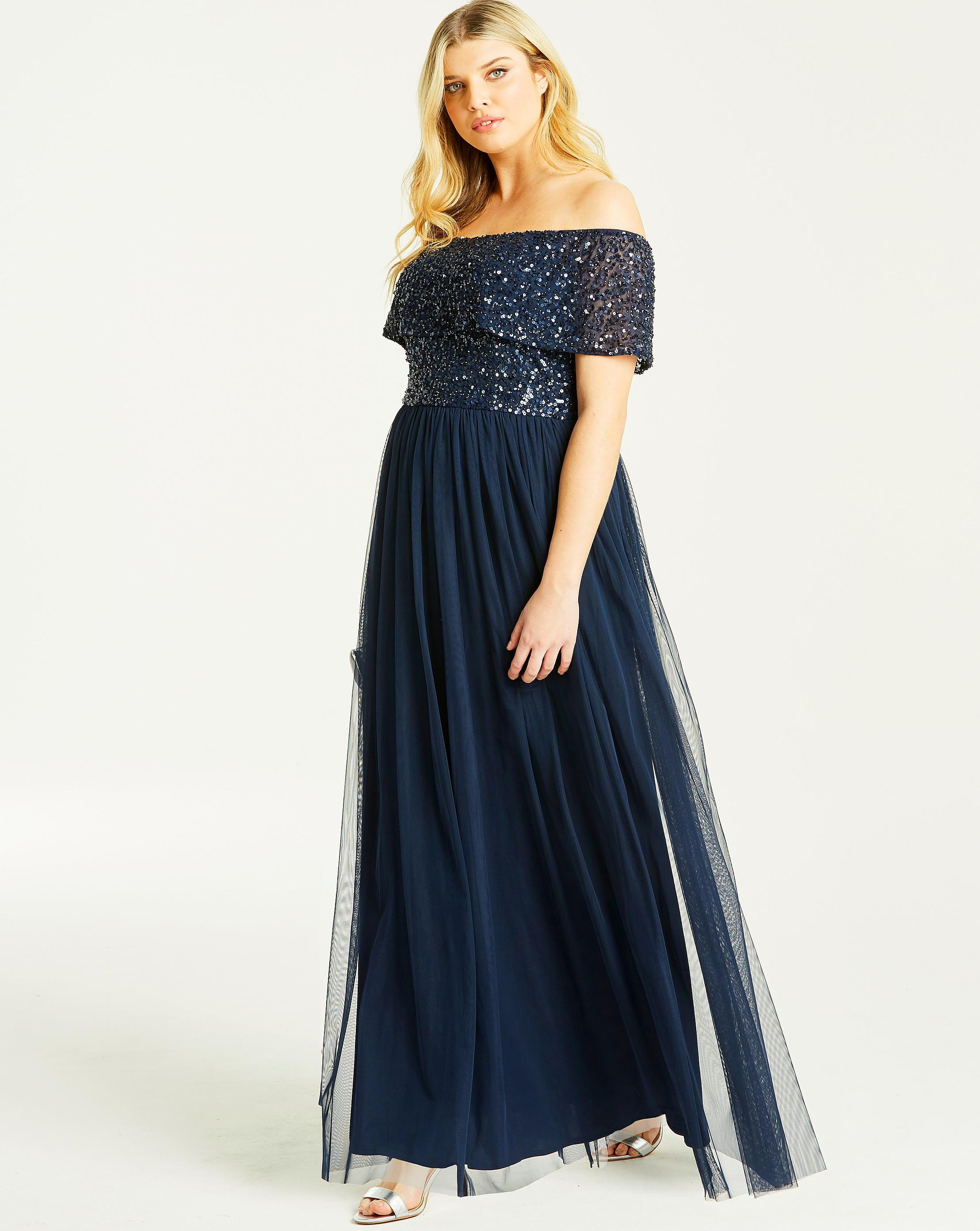 589e61a6b93 Full Sleeve Embellished Maxi Dress - Gomes Weine AG