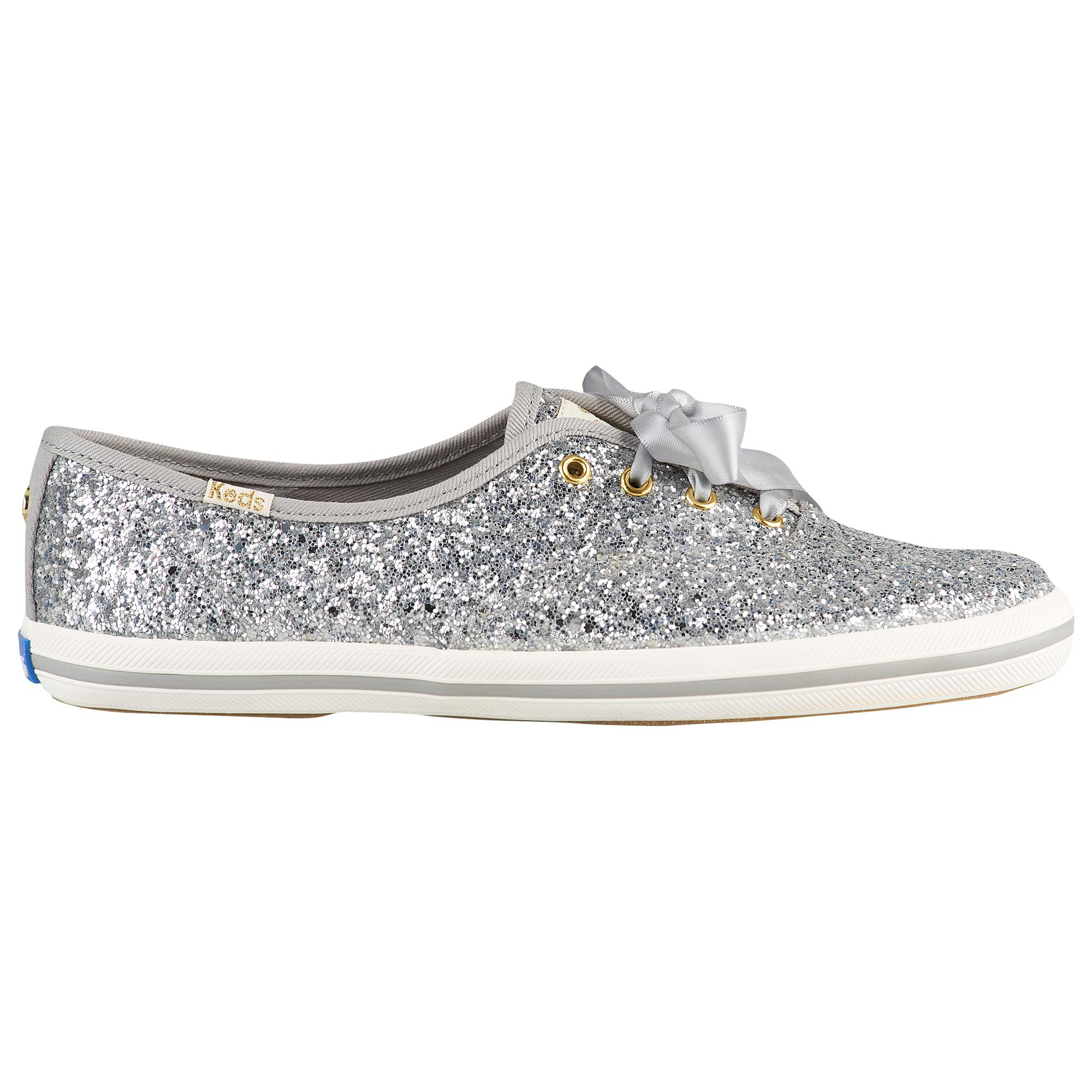 bc8a76f266bf5 Lyst - Keds For Kate Spade Champion Glitter in Metallic