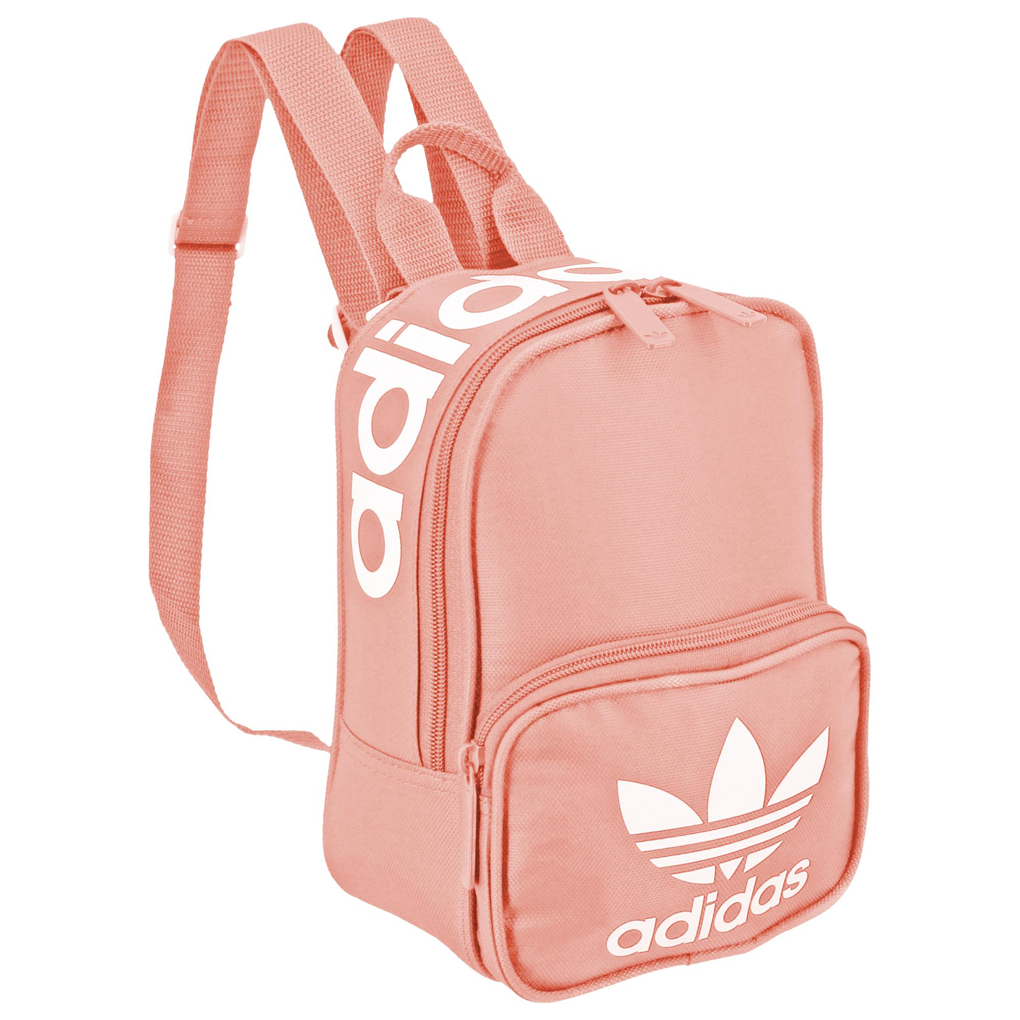 Lyst - adidas Originals Santiago Mini Backpack in Pink 9909ed1ef239b