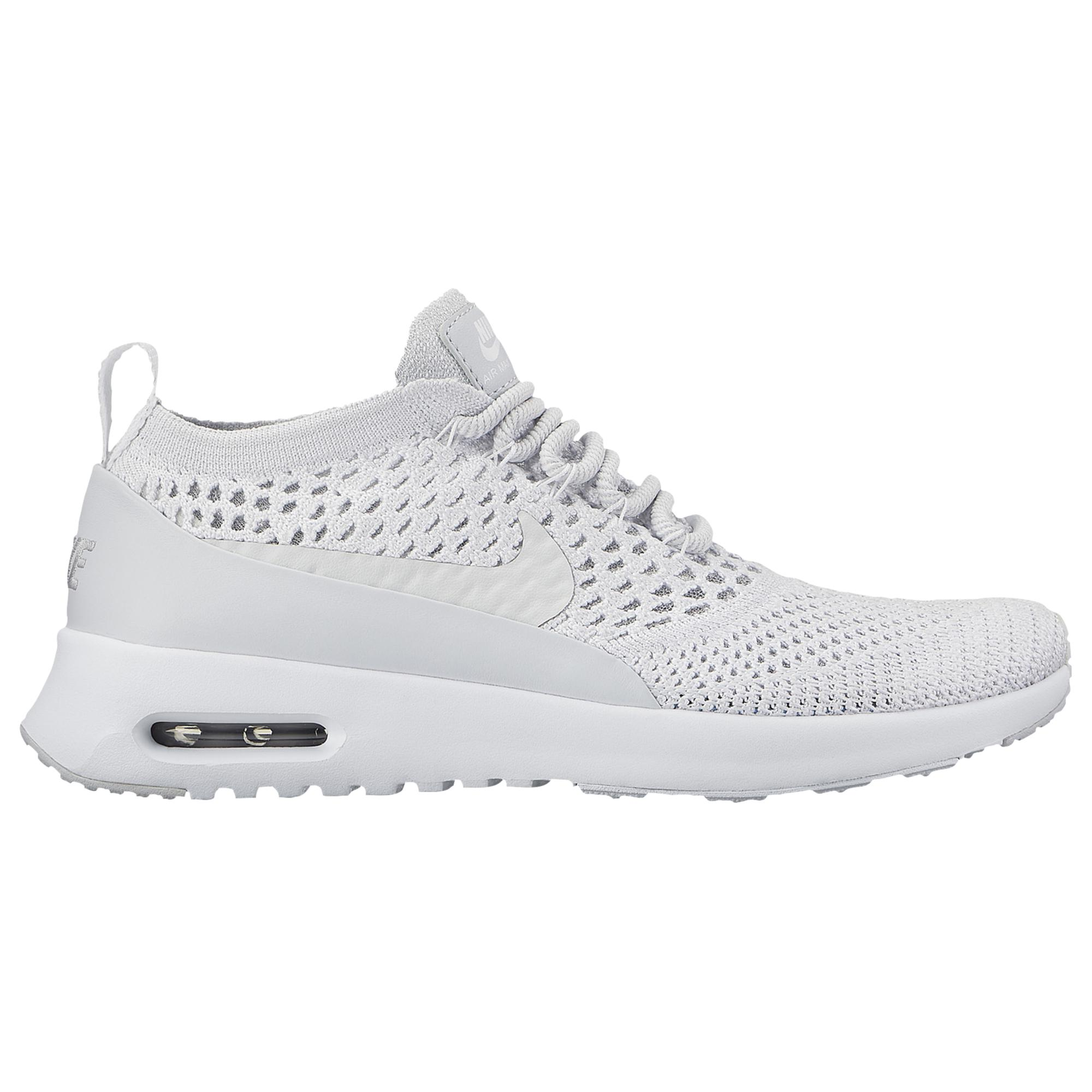 ae87807bd810 Lyst - Nike Air Max Thea Ultra Flyknit in White