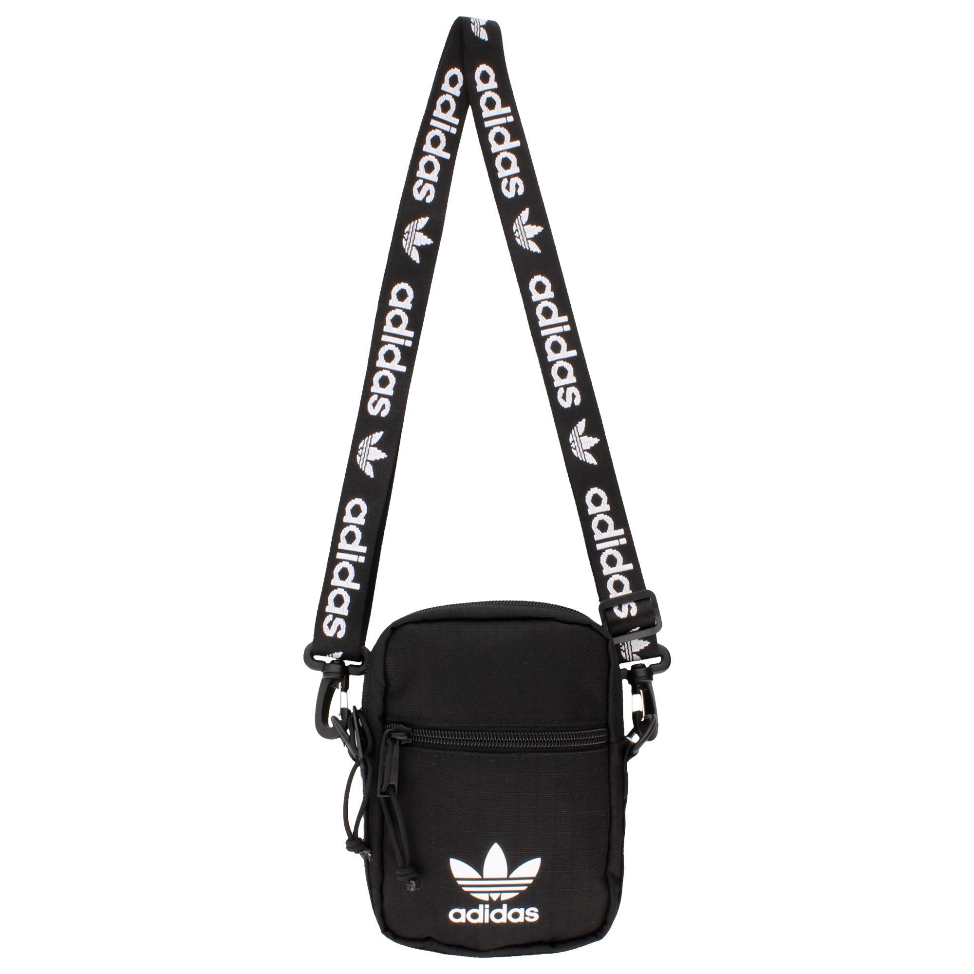 599494284850 Lyst - adidas Originals Shoulder Strap Festival Bag in Black
