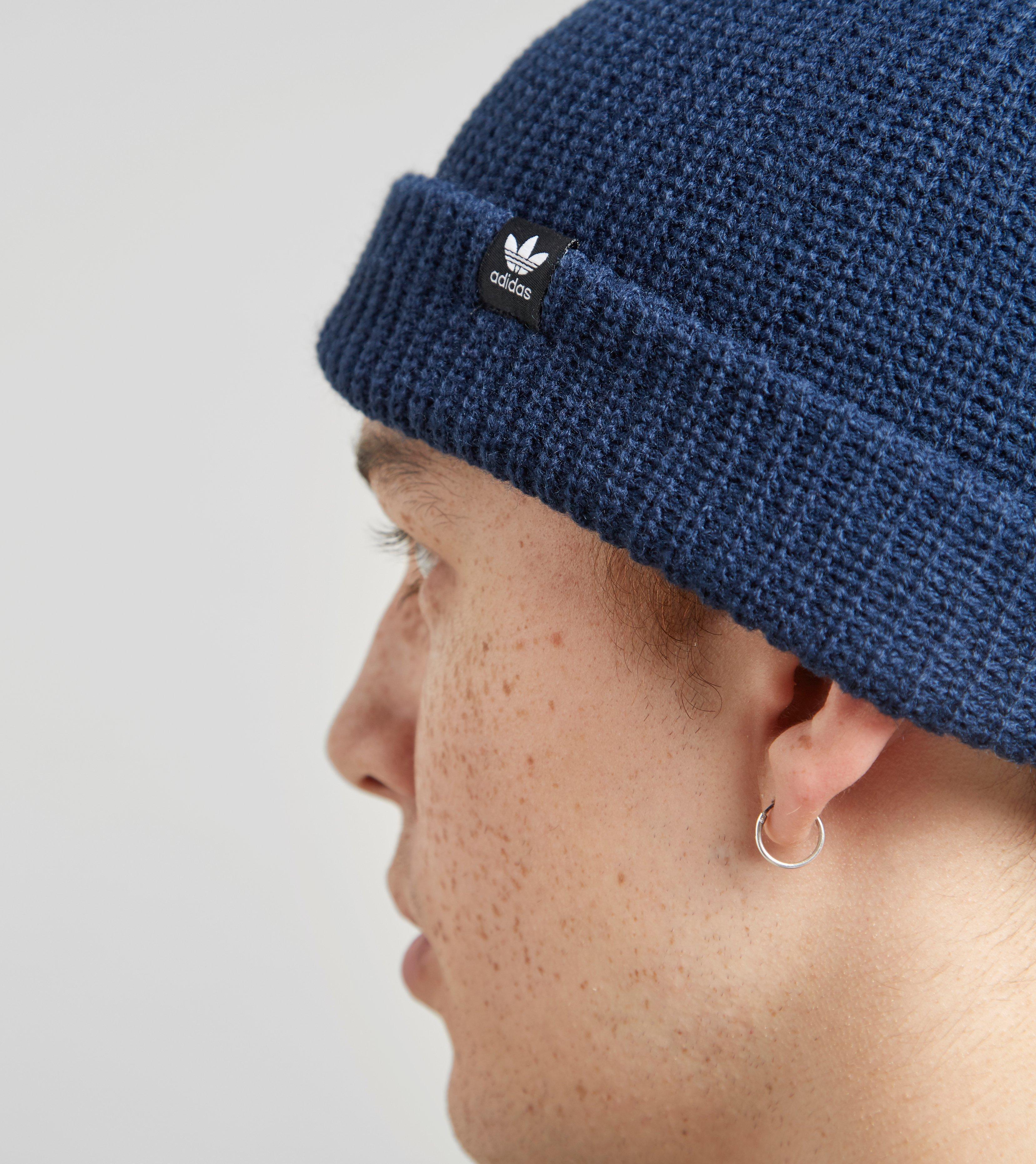 008c76fbf5525 adidas Originals Trefoil Fisherman Beanie in Blue for Men - Lyst