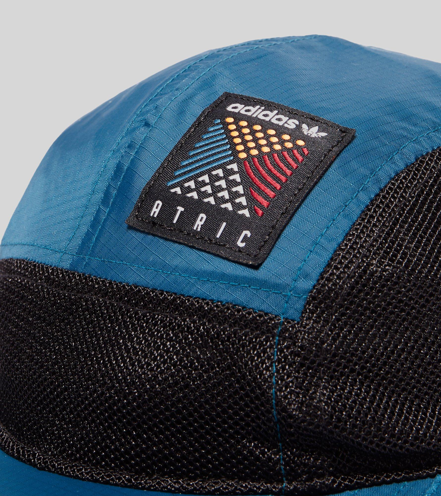 4f779754f54 adidas Atric 5 Panel Cap in Blue for Men - Lyst