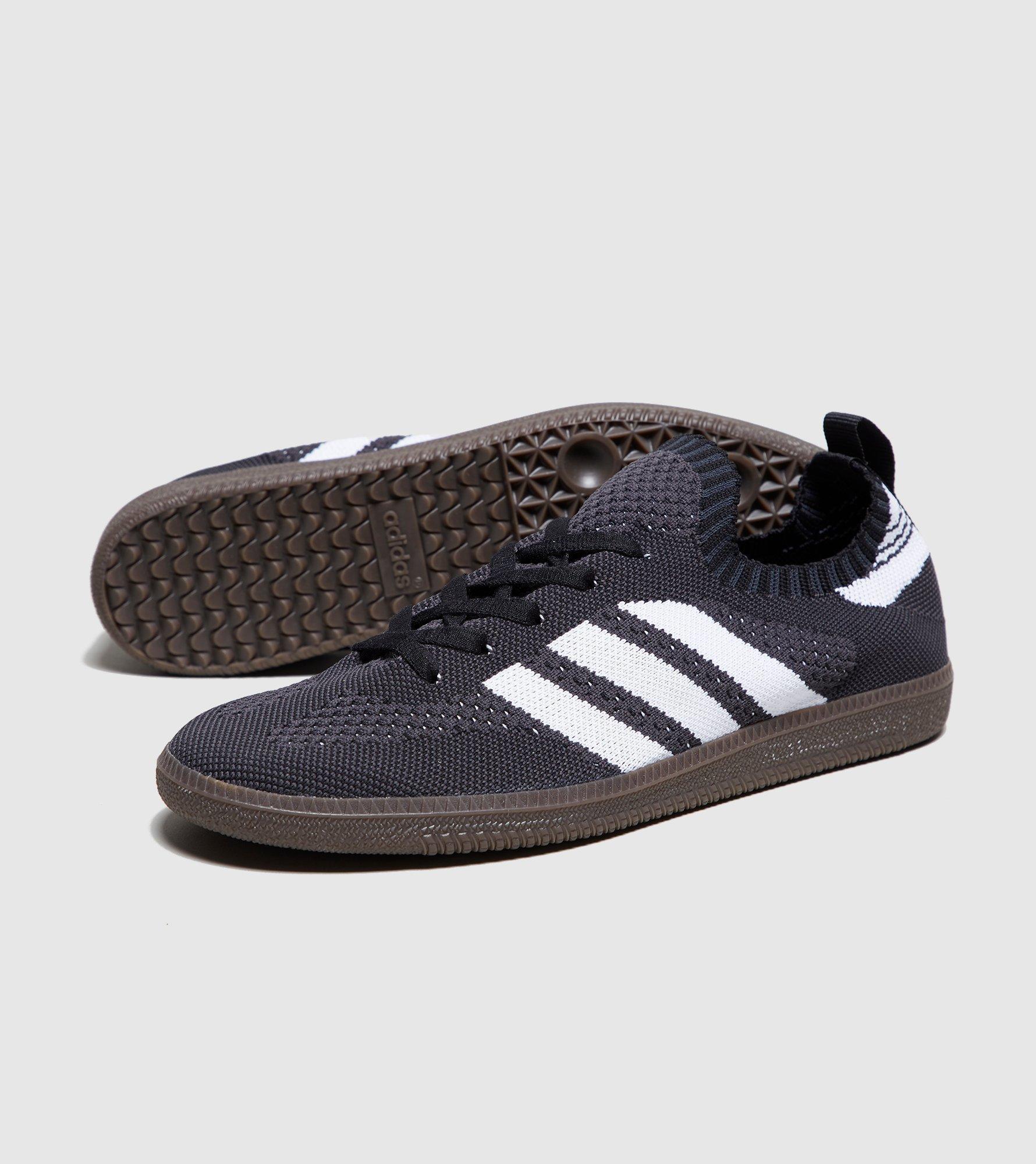12cb4dd20 ... promo code lyst adidas originals samba primeknit in black for men 3fc4e  cf836