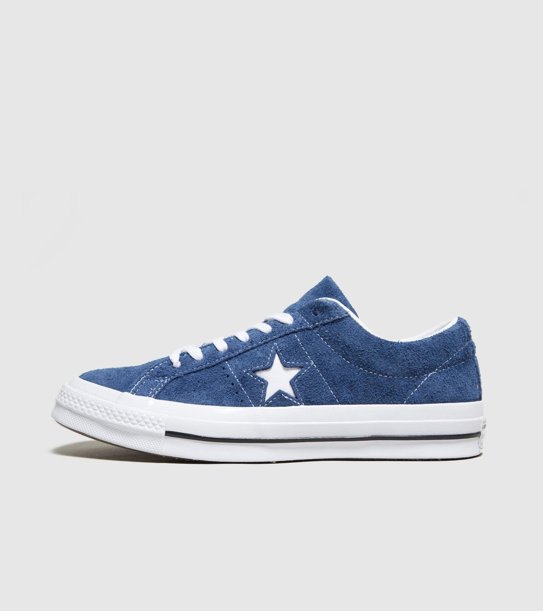 c786a00846d7 Lyst - Converse One Star Suede in Blue for Men