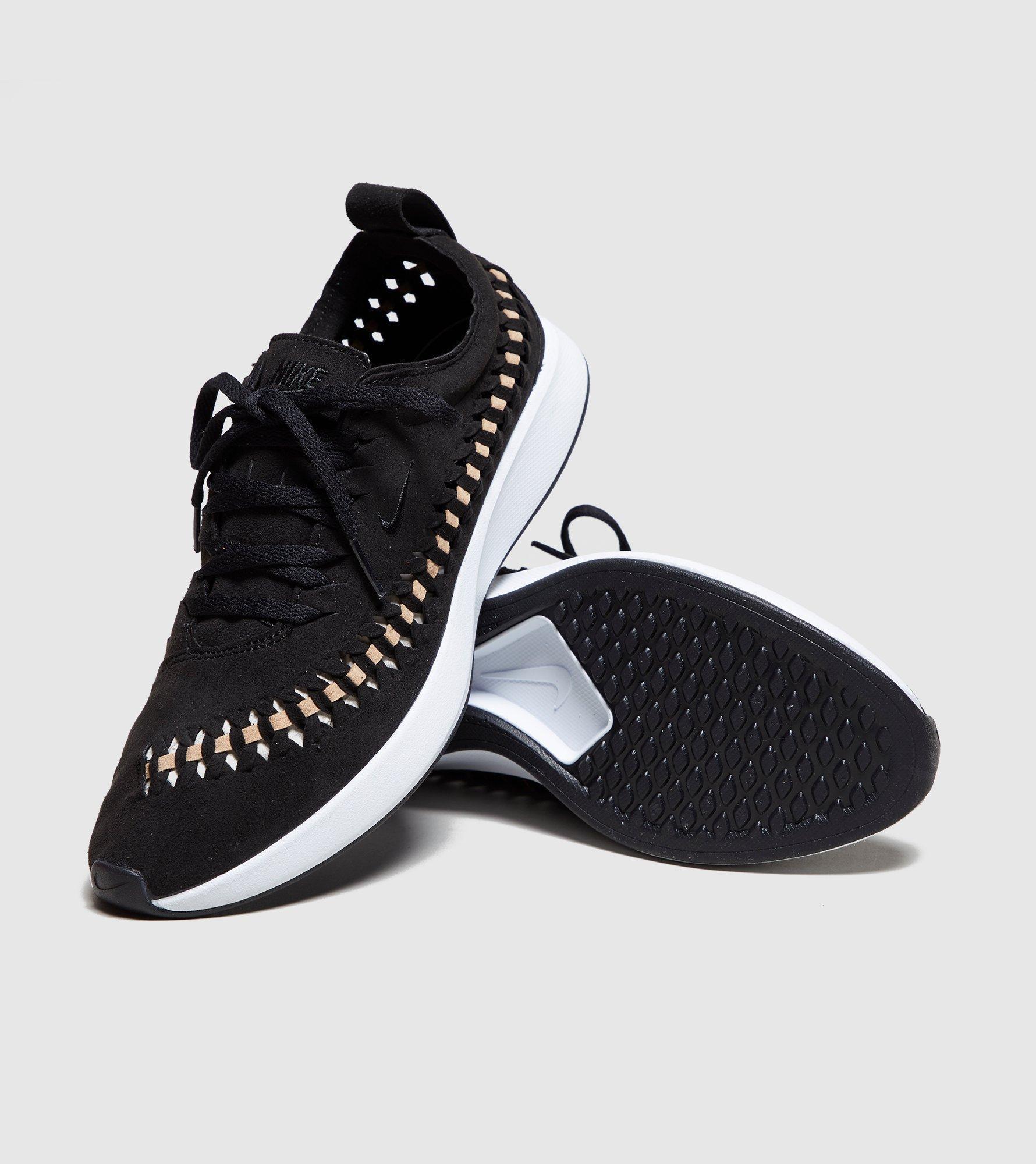 Nike Dualtone Racer Woven Women s in Black - Lyst 7d9b5d60f