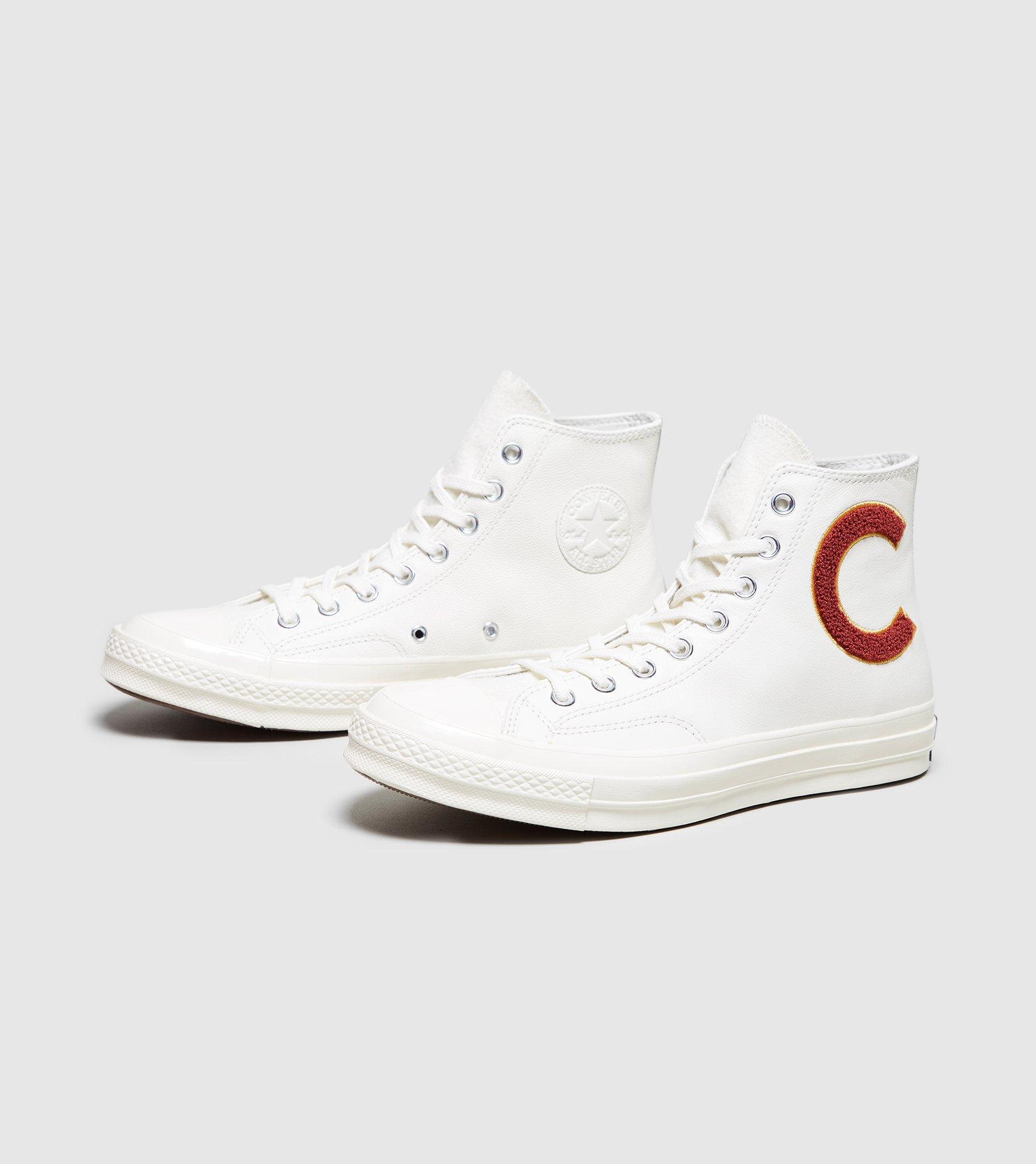 f32bd4e33898 Lyst - Converse All Star 70 s High  varsity Jacket  in White