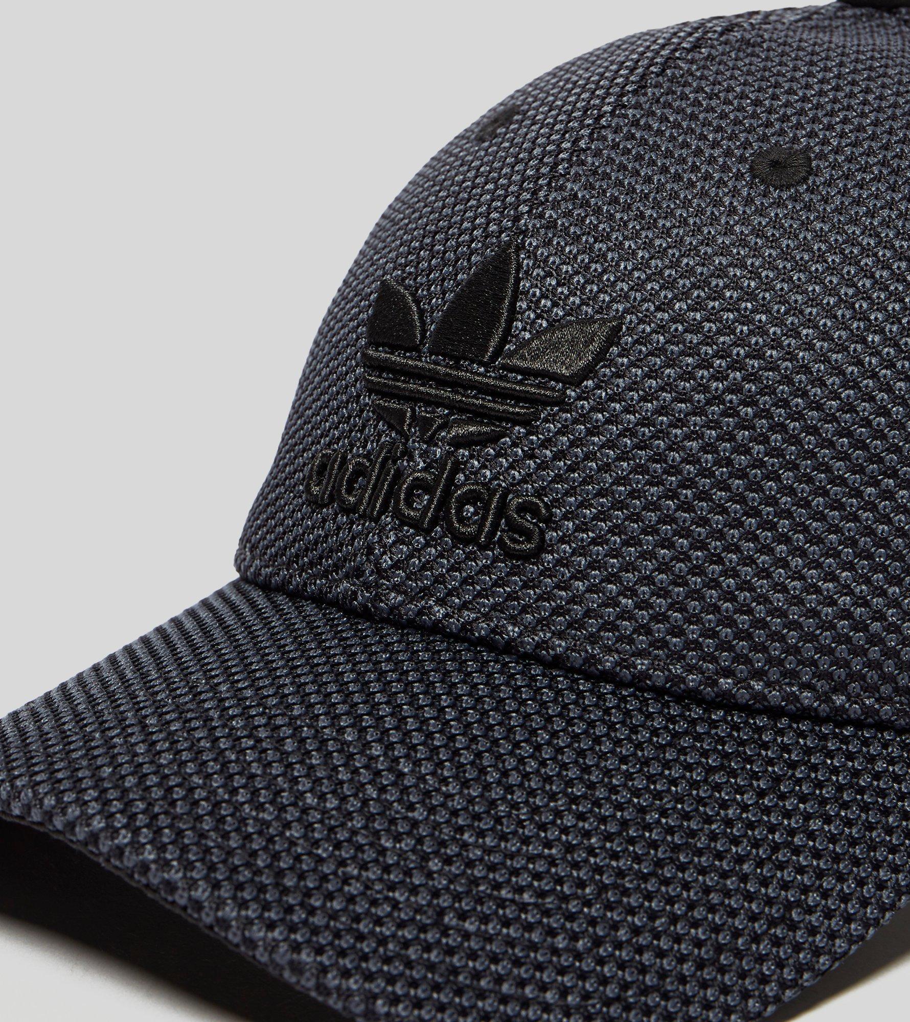 c41bcdf4c03 adidas Originals Primeknit Trefoil Cap in Black for Men - Lyst