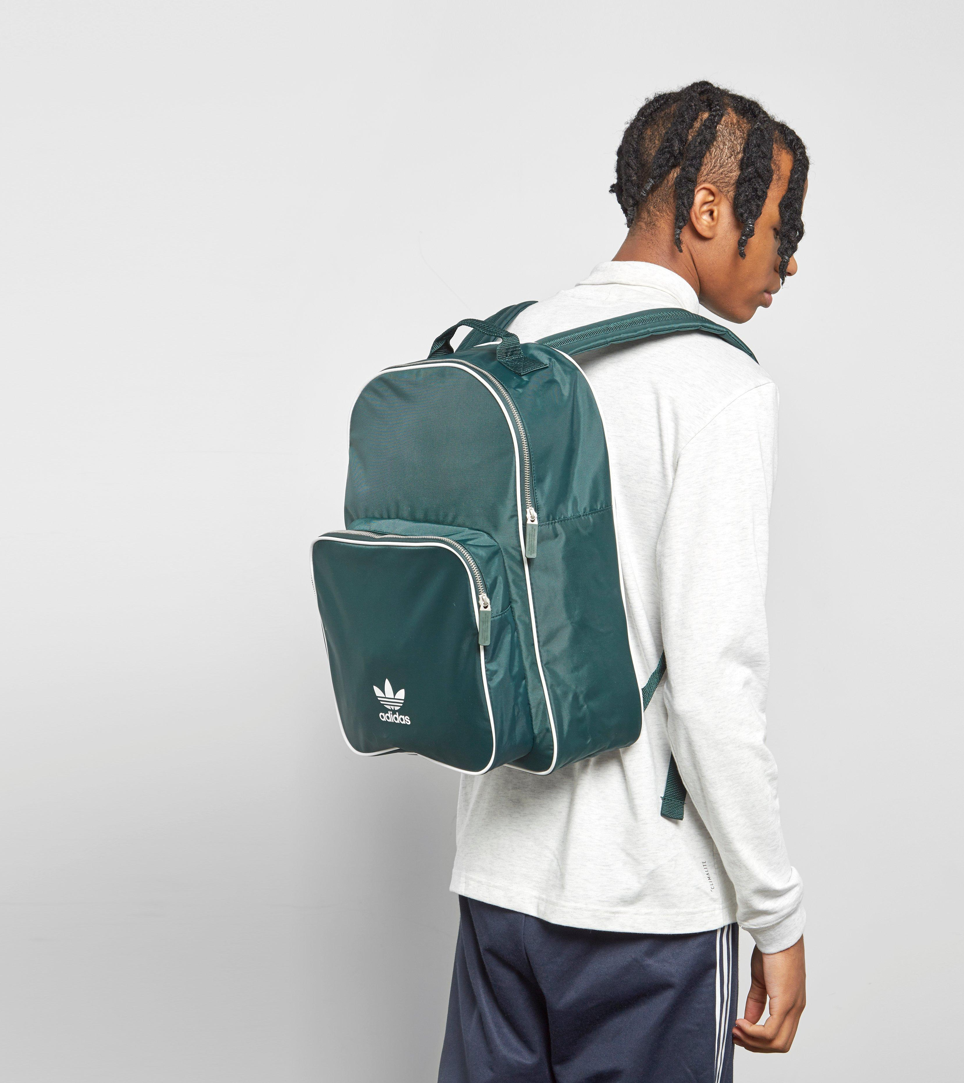 c22a8eb7180 adidas Originals Adicolor Backpack in Green for Men - Lyst