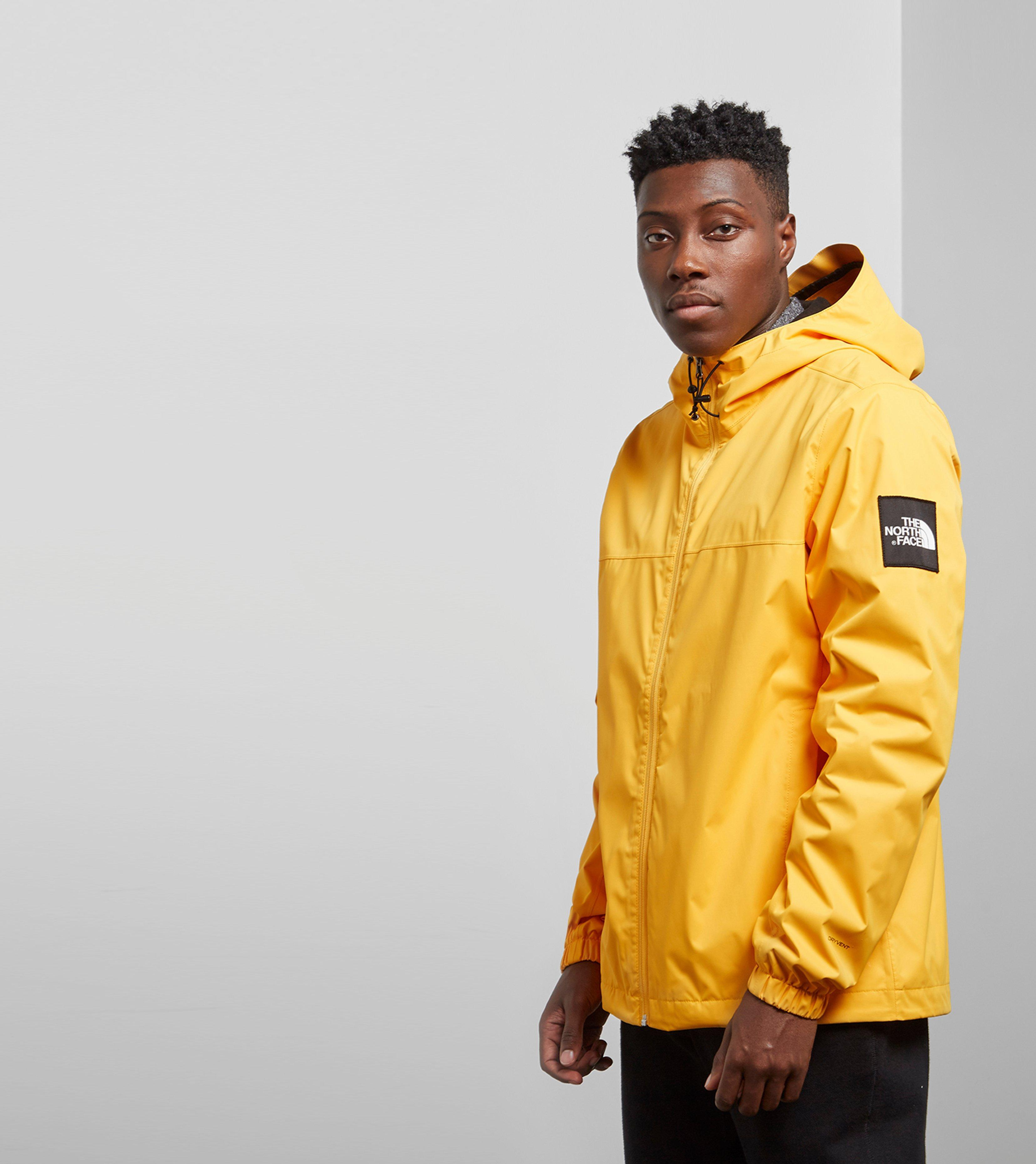 Lyst - The North Face Mountain Quest Jacket in Yellow for Men 397ee4ad2