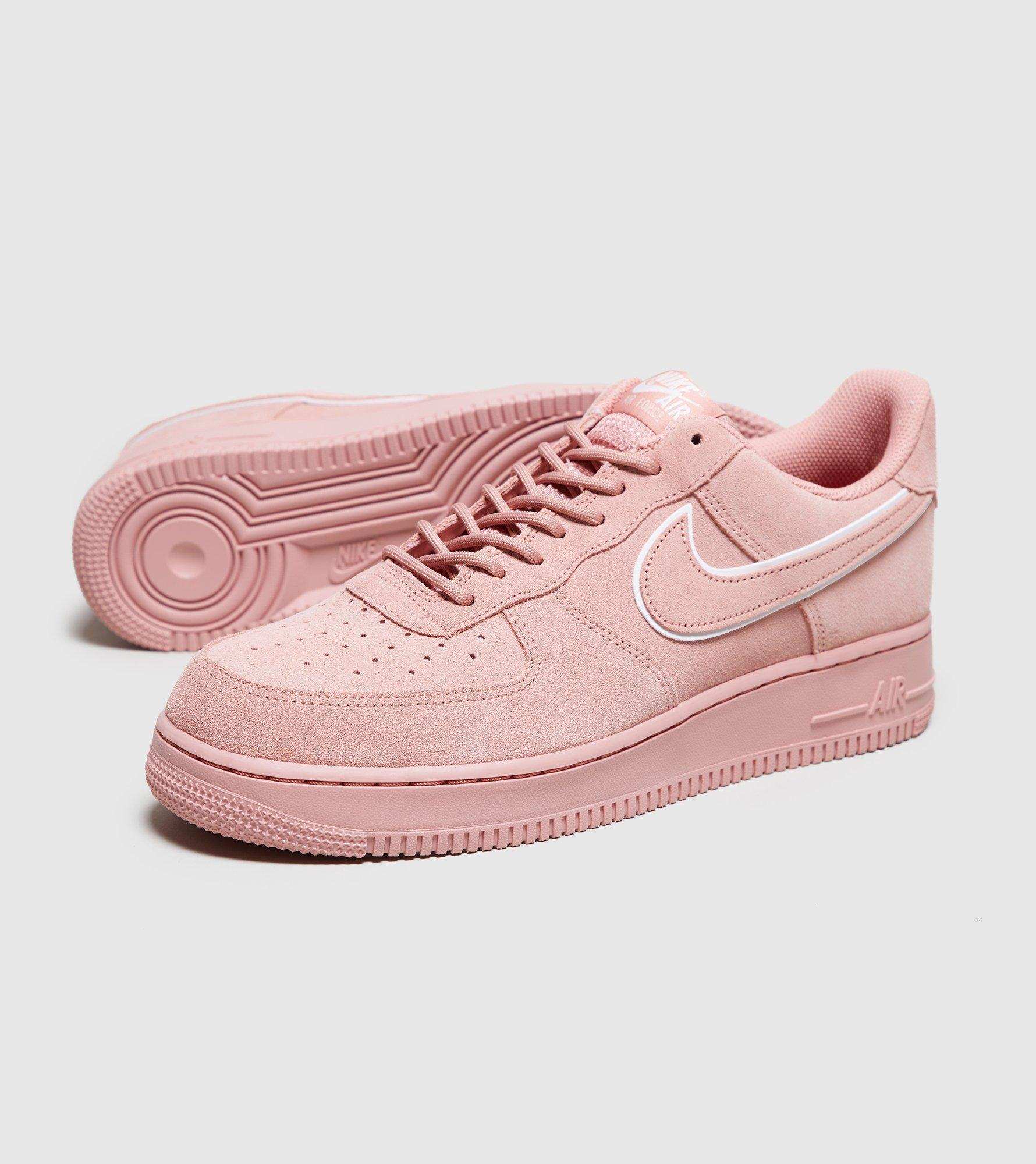 Lyst Nike Air Force Color 1 Lv8 Suede En Color Force Rosa e53bf7