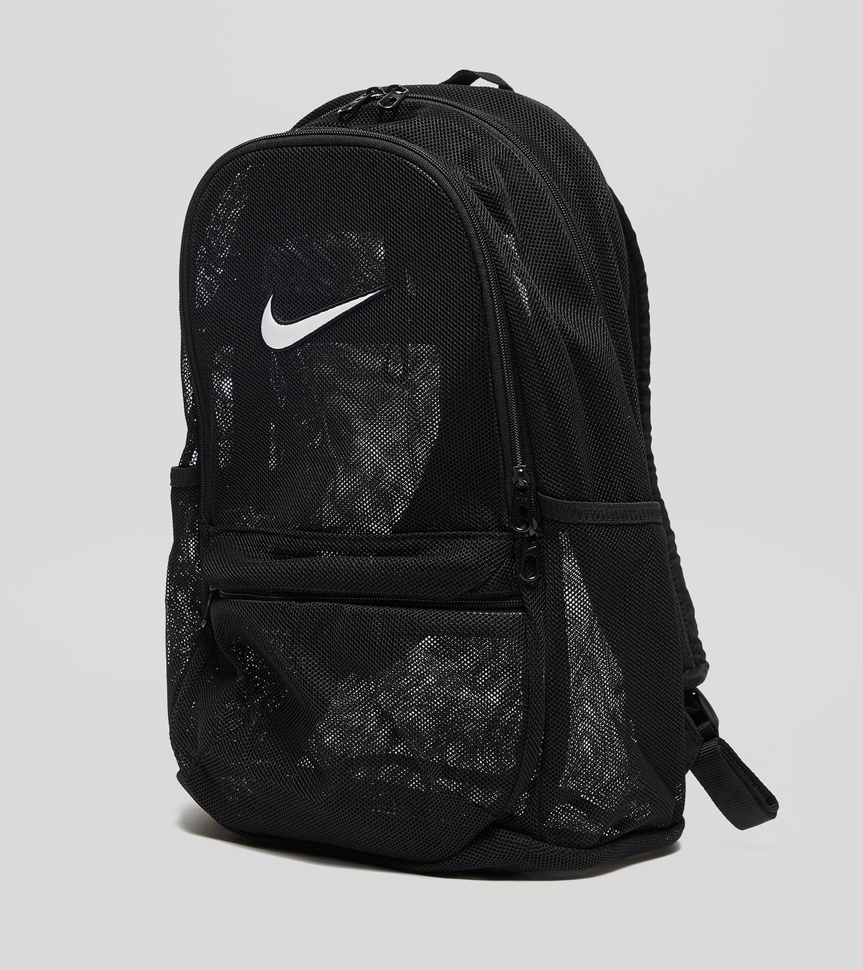 White Mesh Nike Backpack- Fenix Toulouse Handball