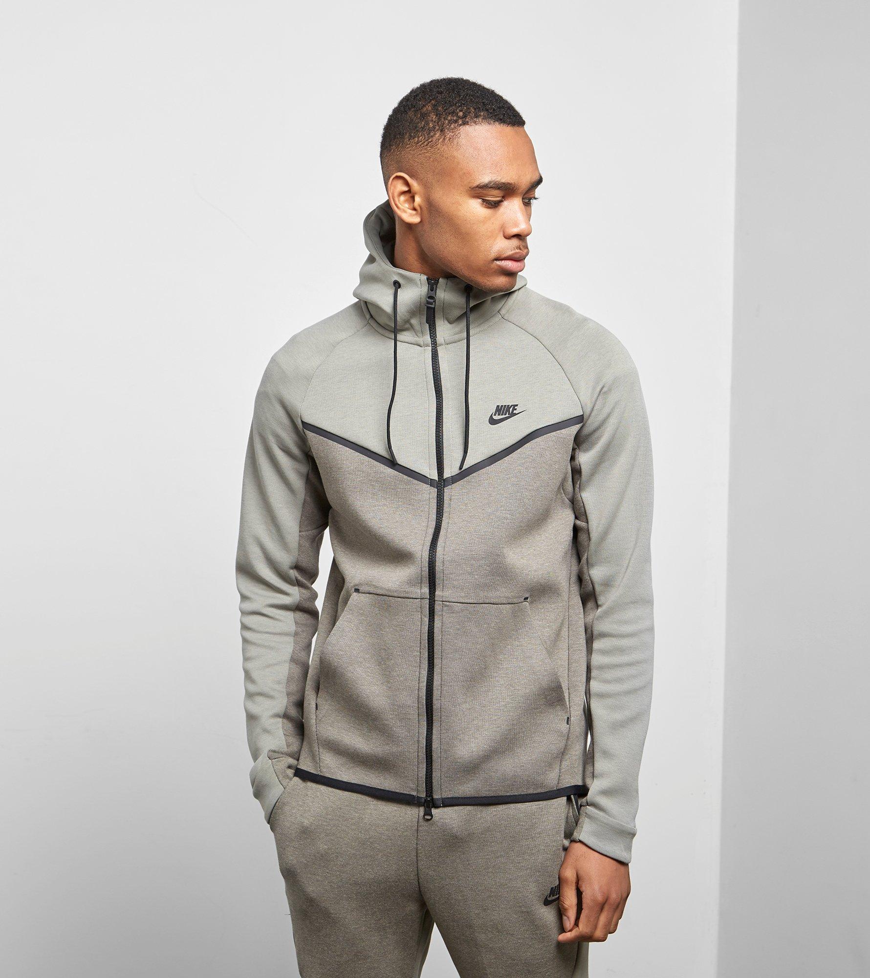Lyst - Nike Tech Fleece Windrunner in Gray for Men 11faa3803166