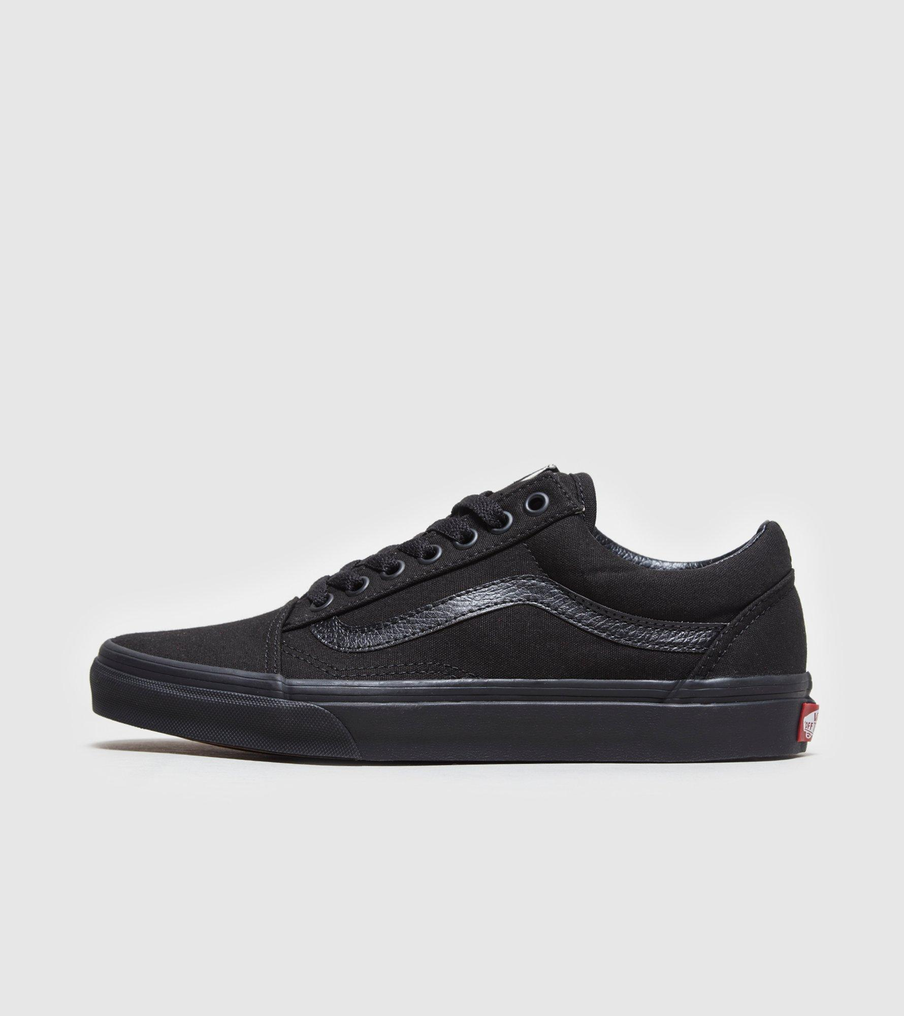 Black Leather Shoes Red Stripe Trim