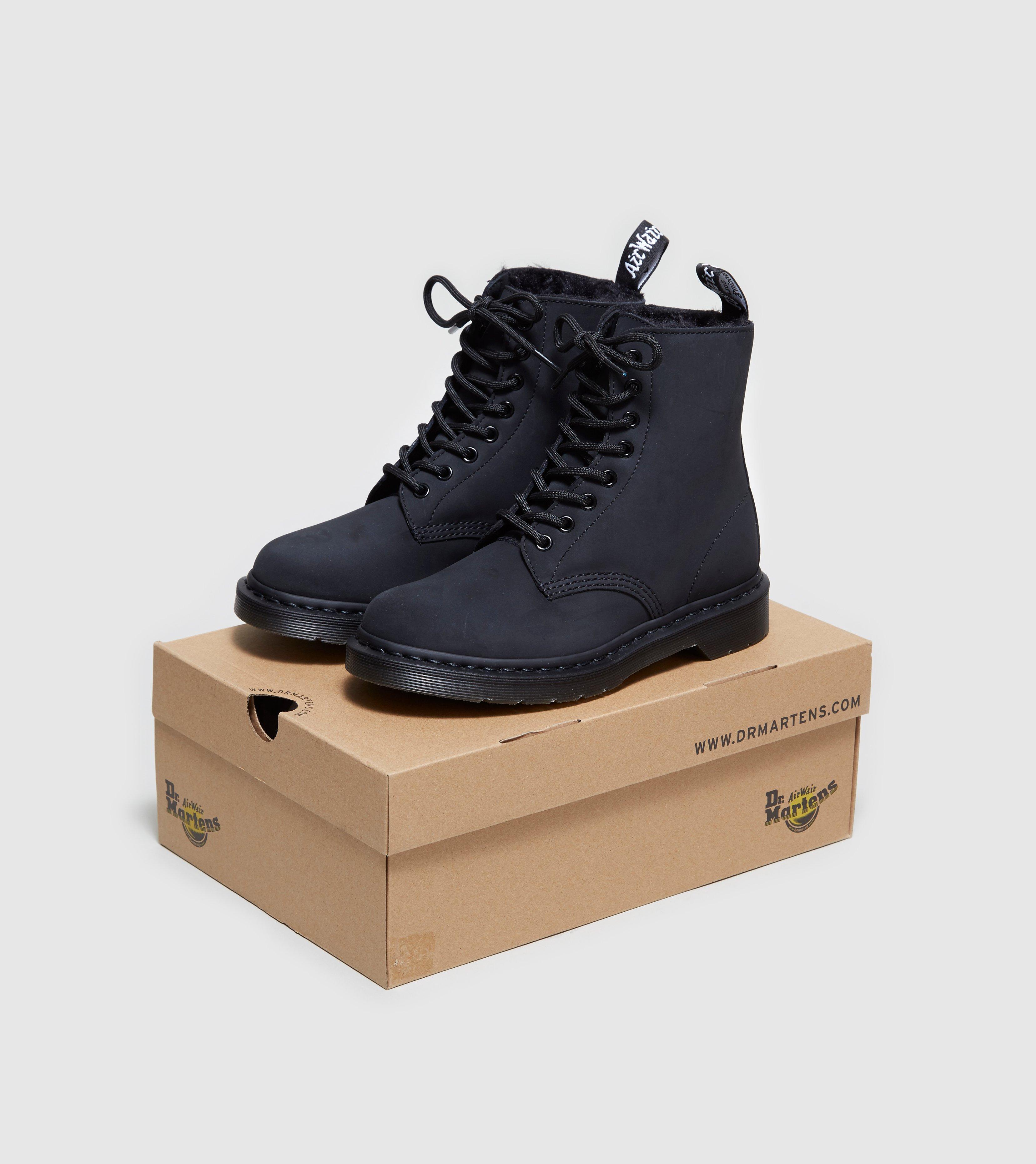 lyst dr martens pascal 8 eye boots in black. Black Bedroom Furniture Sets. Home Design Ideas