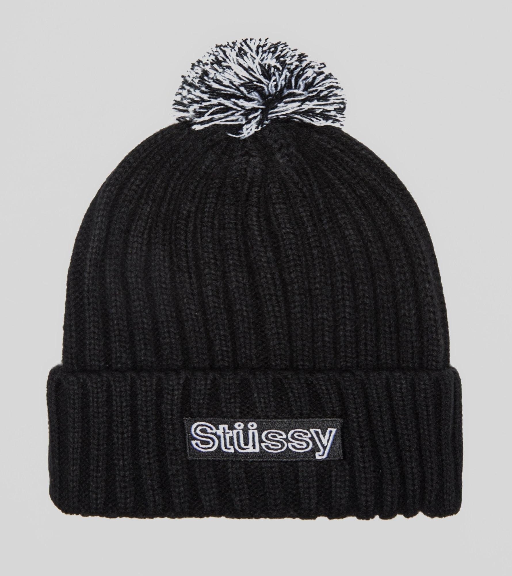 Stussy Rudy Beanie Hat In Black