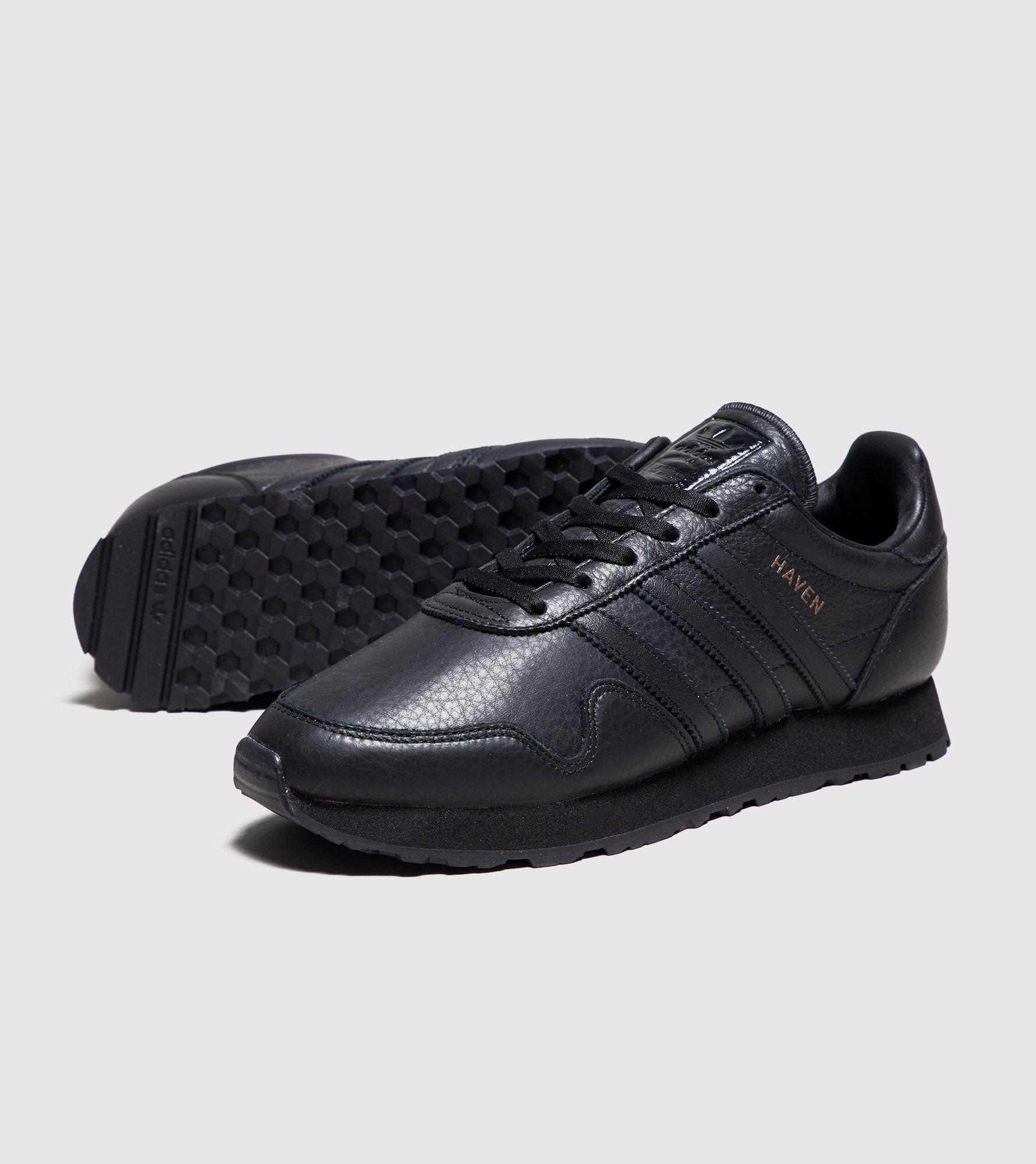 0eab29f6d9dce7 Lyst - adidas Originals Haven Leather in Black for Men