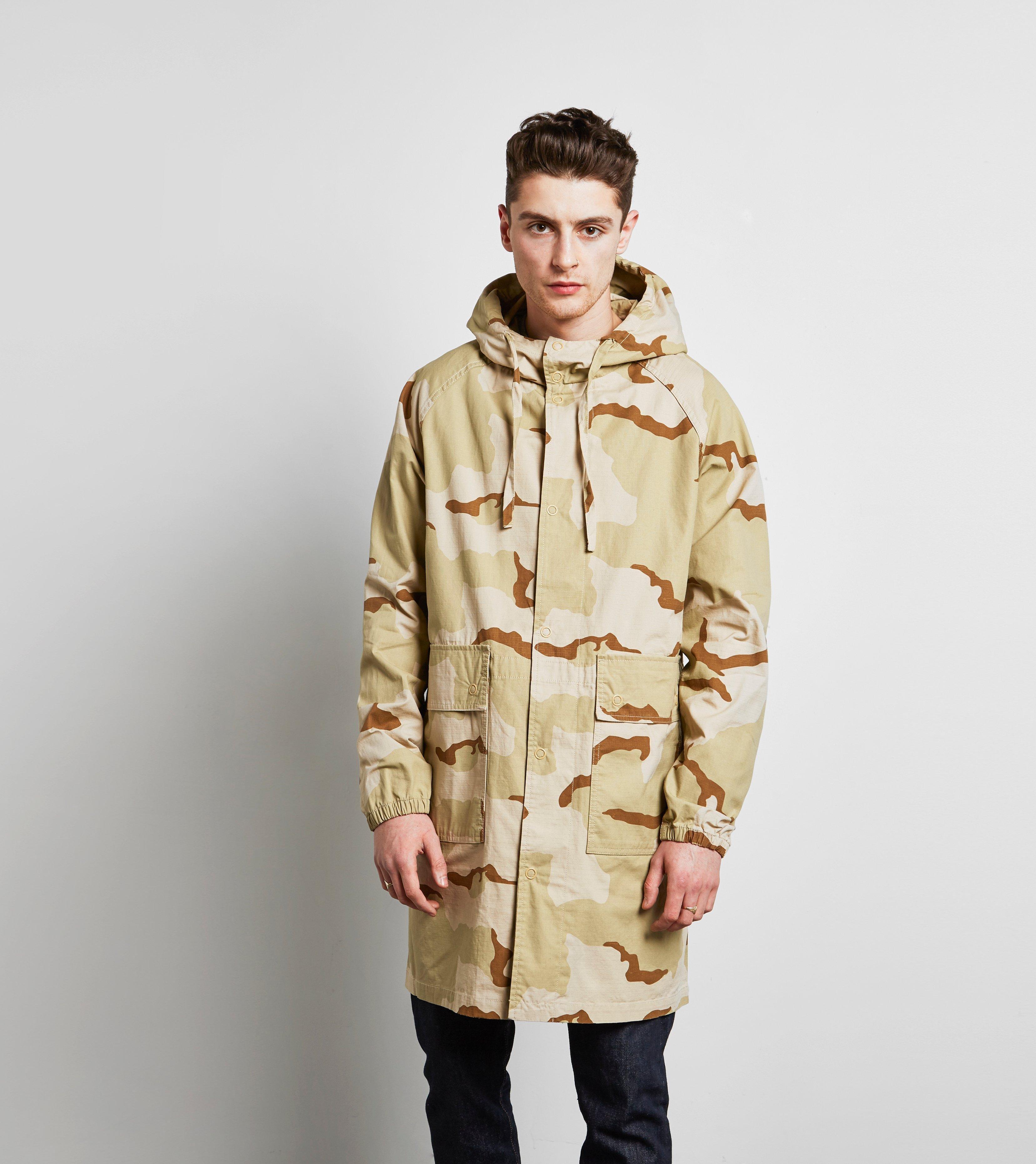 bce379c519d3 Stussy Long Ripstop Camo Jacket for Men - Lyst