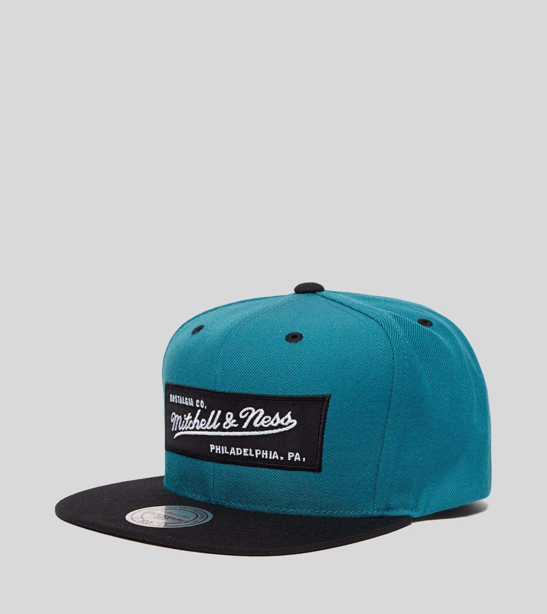04431a95f67 Mitchell   Ness Box Logo Cap in Blue for Men - Lyst