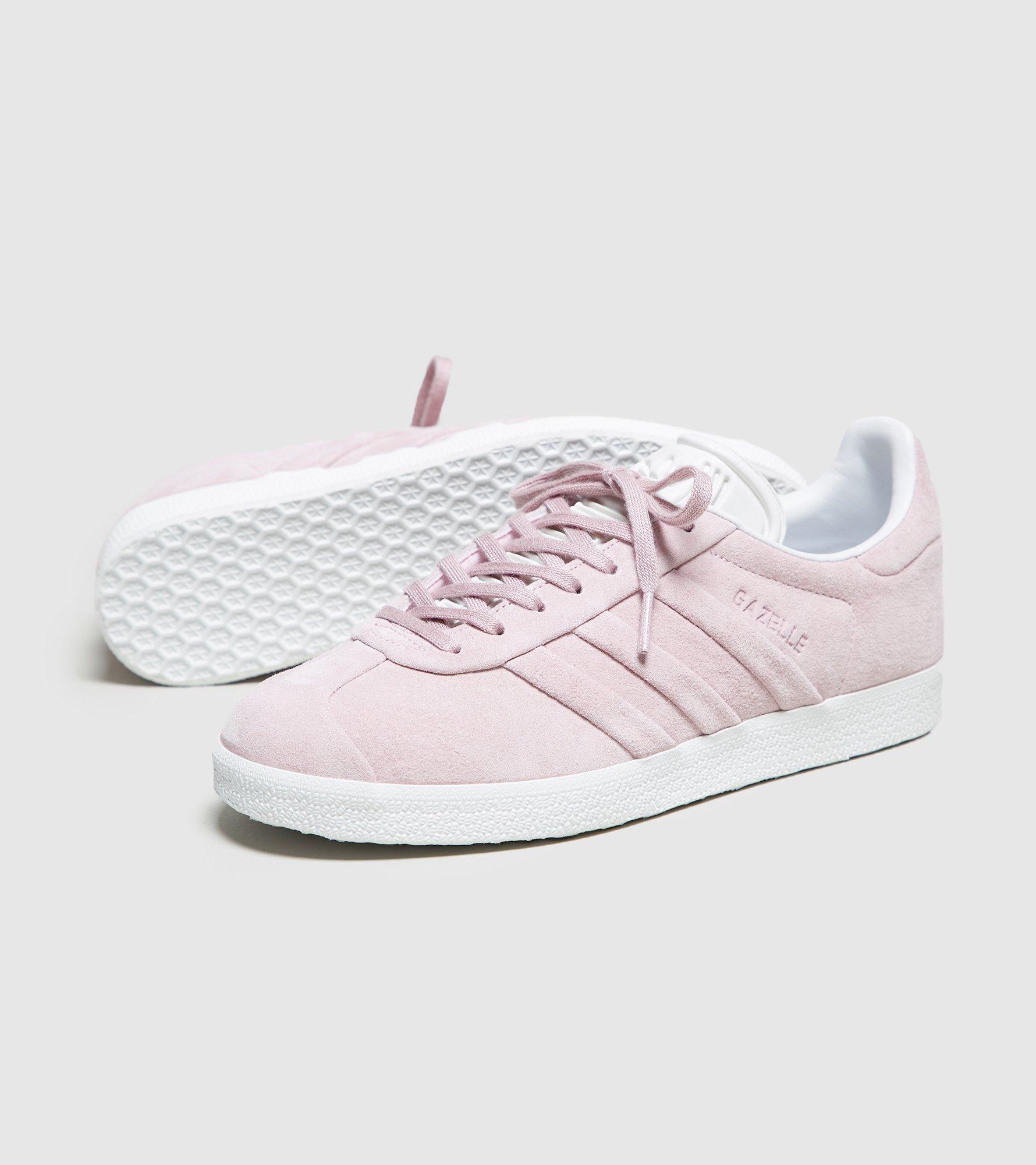 60610c6d0437fb Lyst - adidas Originals Gazelle Stitch And Turn Women s in Pink