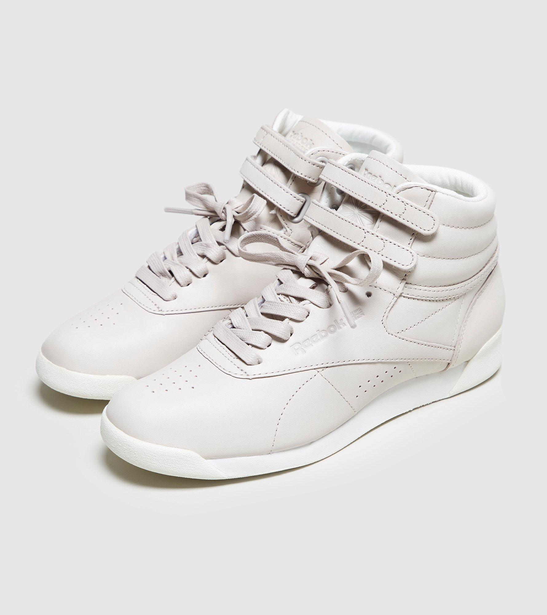 Lyst - Reebok X Face Stockholm Freestyle High Women s in White d2ec127fc
