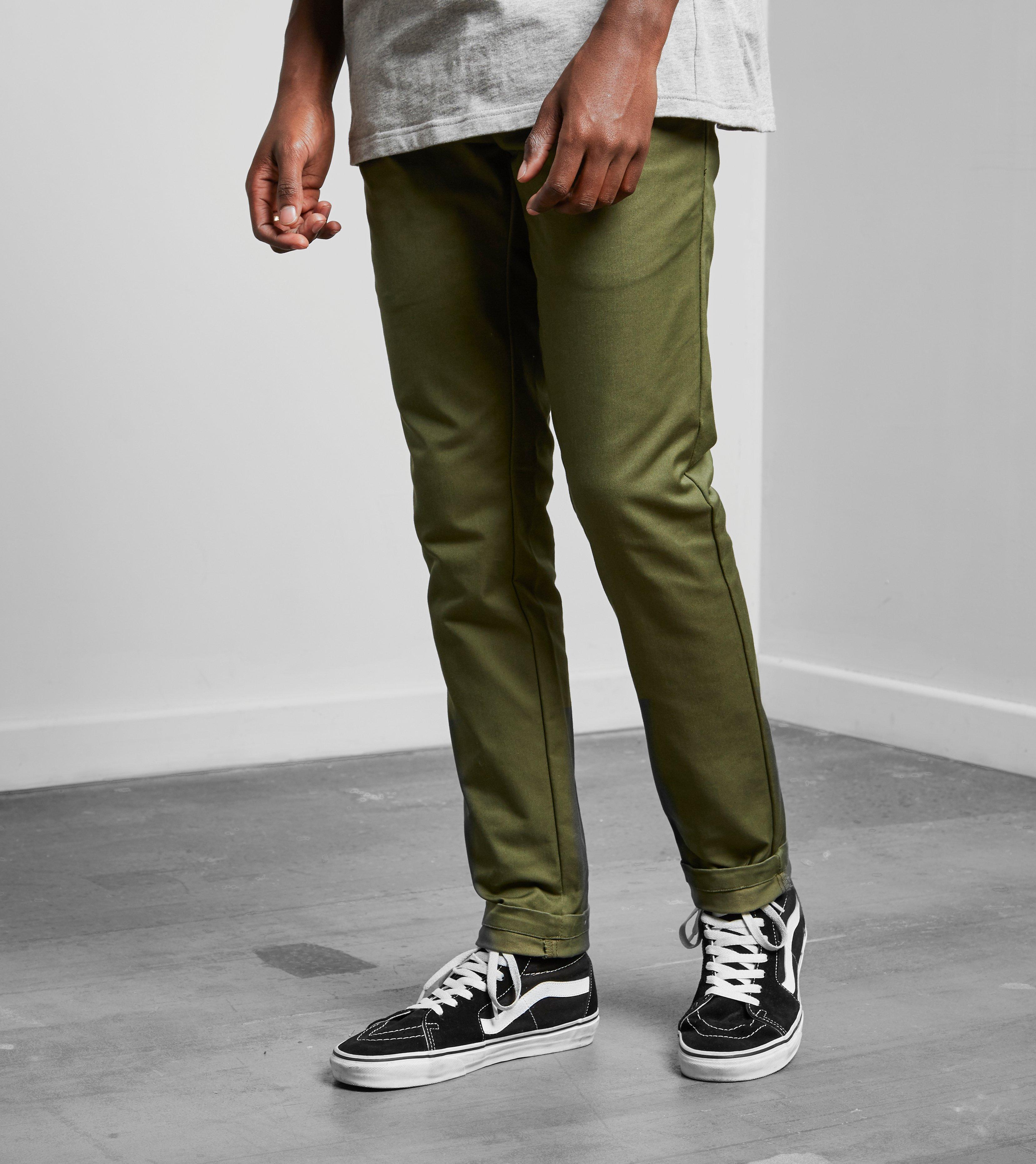 de201569b2d63b Carhartt WIP Sid Pants in Green for Men - Lyst