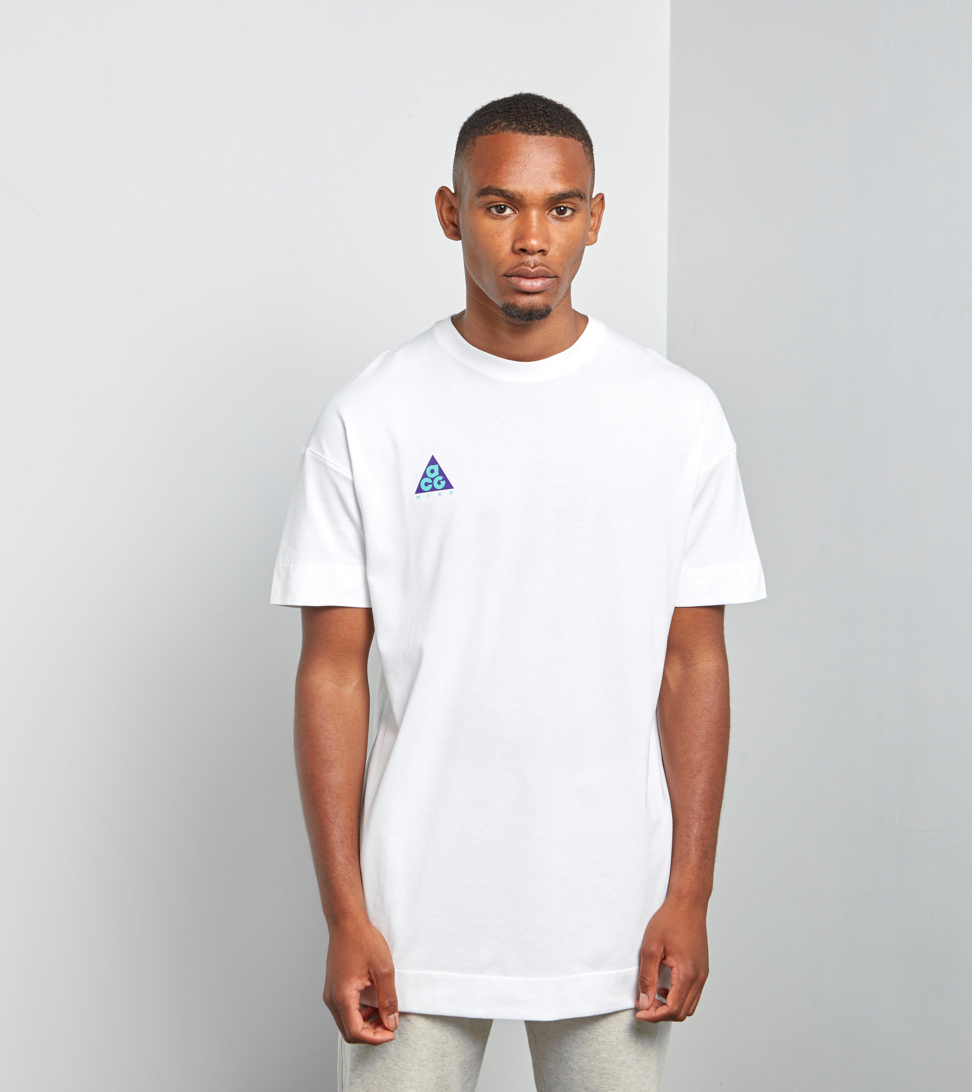 T Qs White Nike Men Acg Shirt For Lyst In 7g6Yybvf