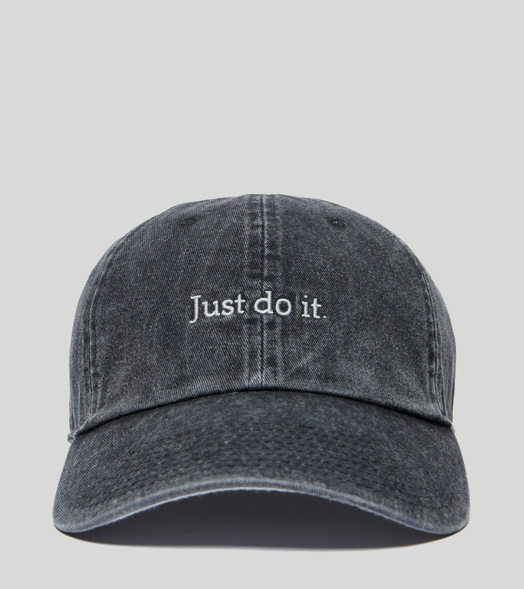 7a0dd0f810bd8 Nike Just Do It Cap in Black - Lyst