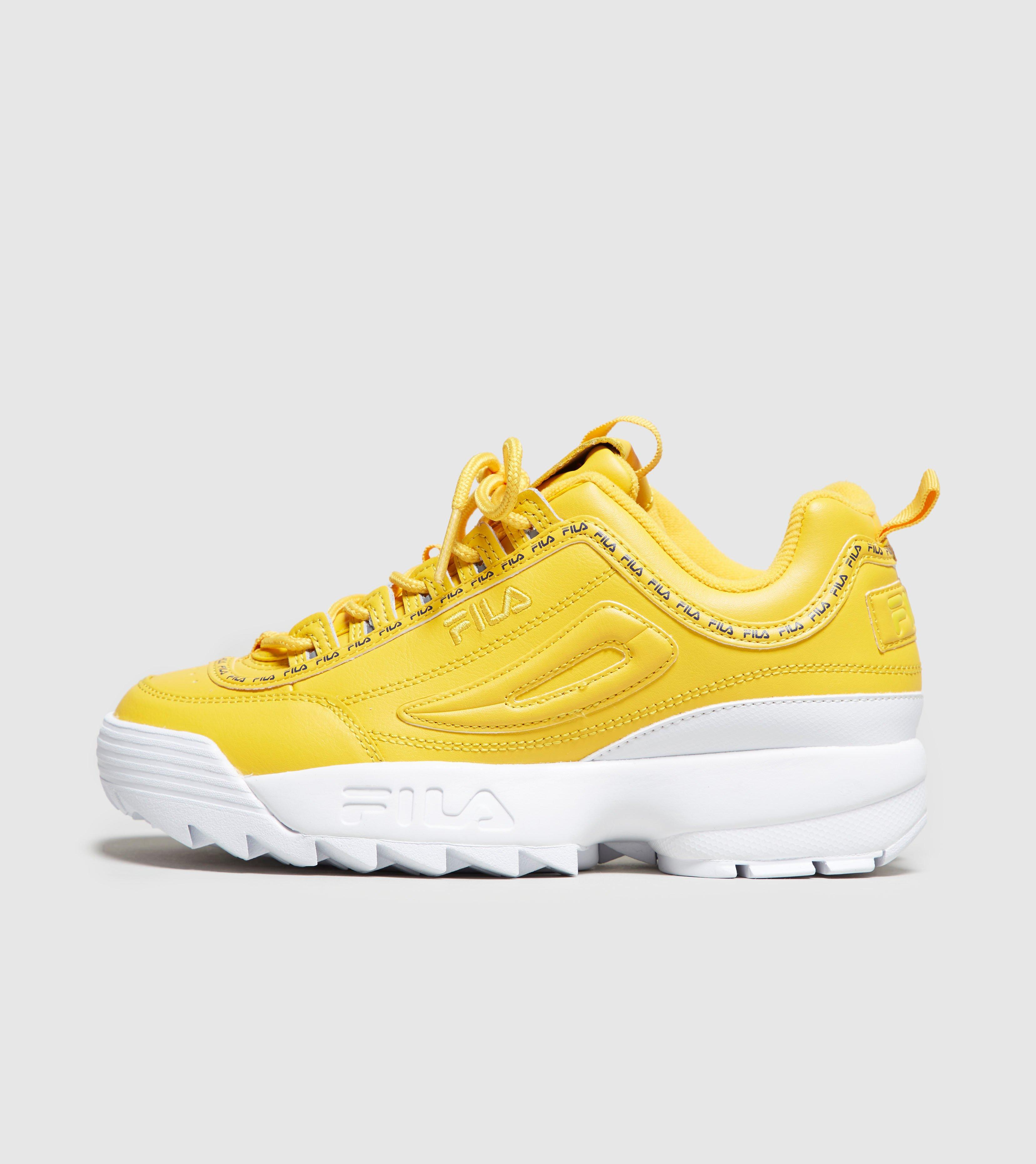 53af910e2be9 Fila Disruptor Ii Women s in Yellow - Lyst
