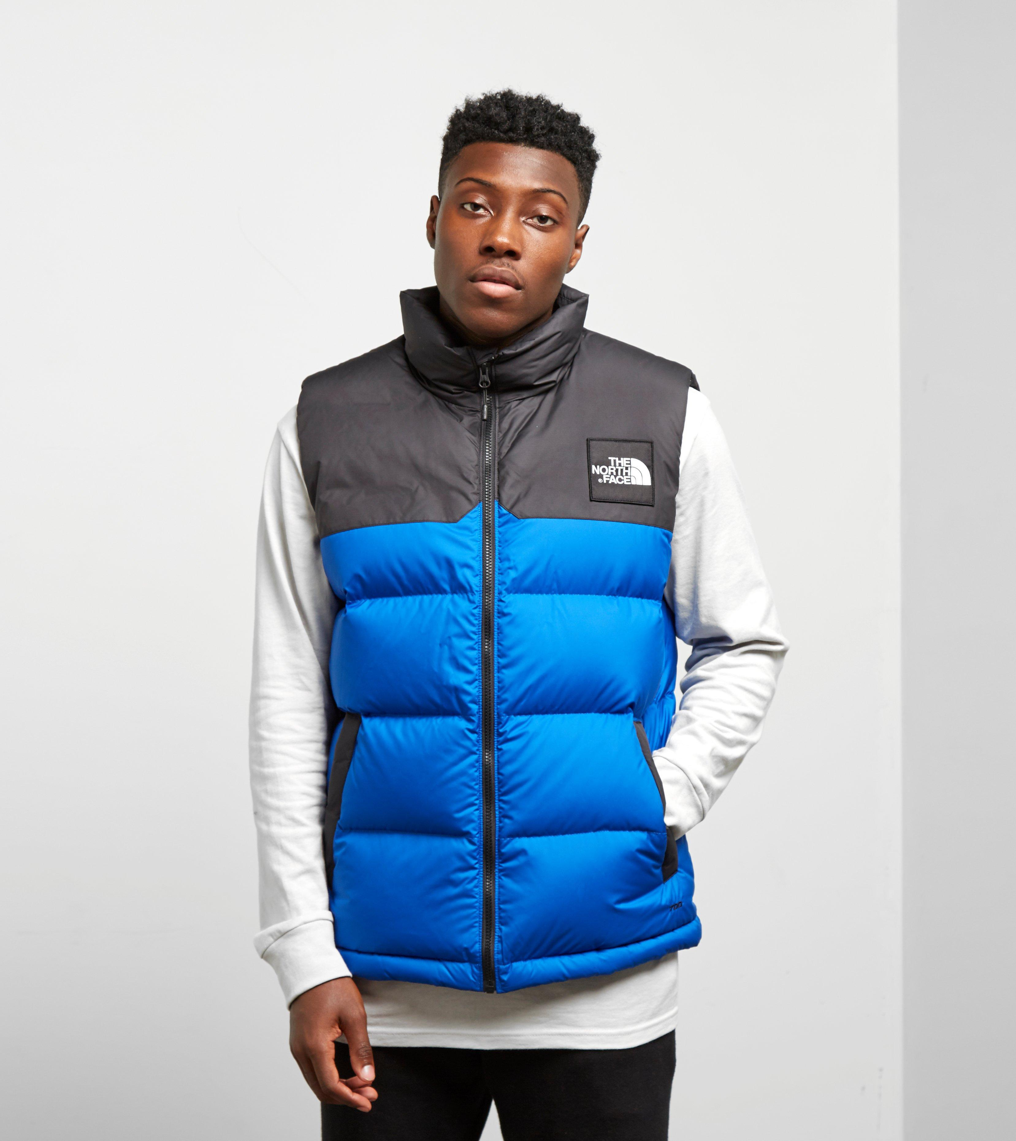 7289271f4e ... netherlands lyst the north face 1992 nuptse vest in blue for men c0768  fb6a4
