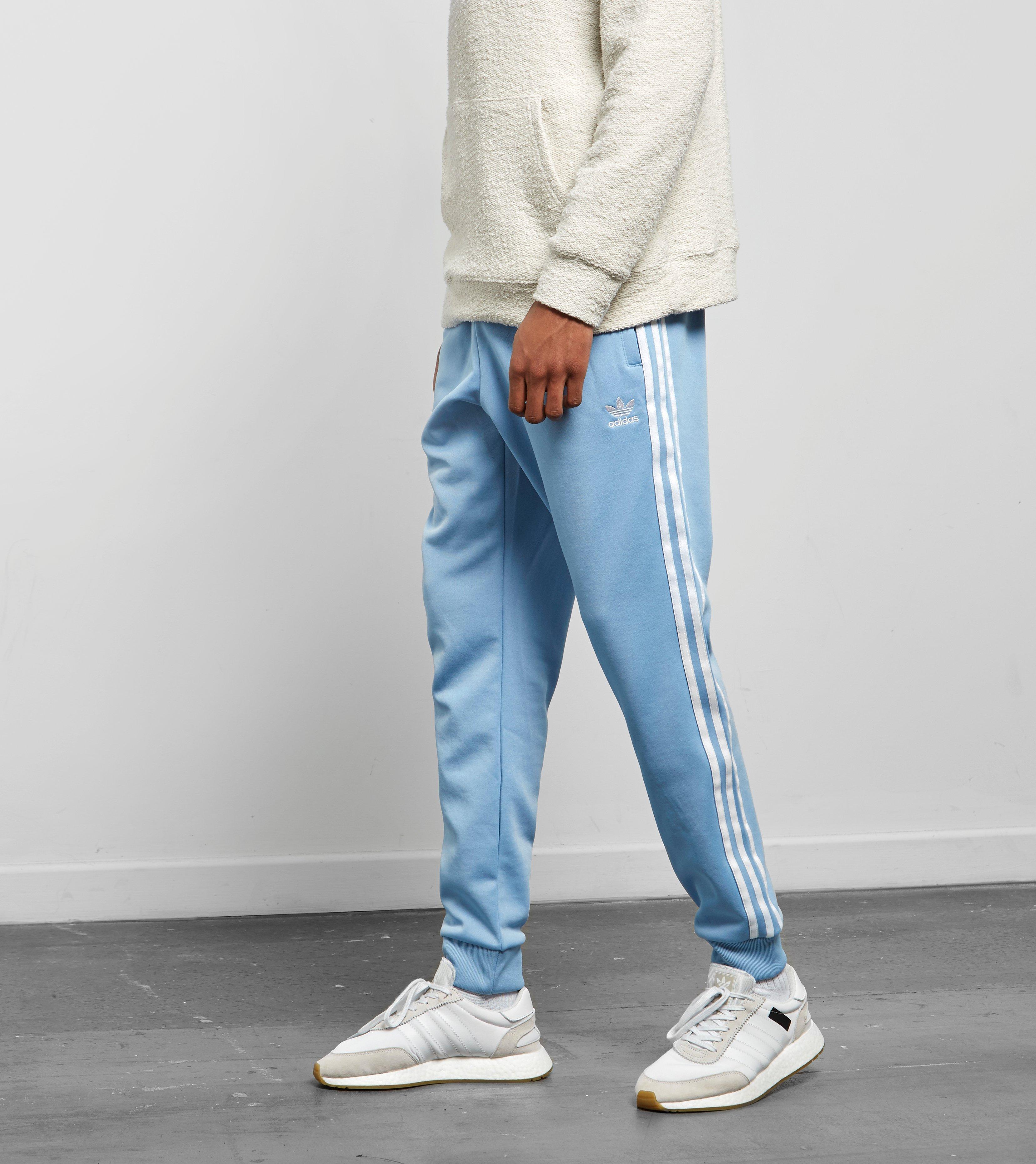 Adidas Originals Superstar track pants en color azul para hombres Lyst