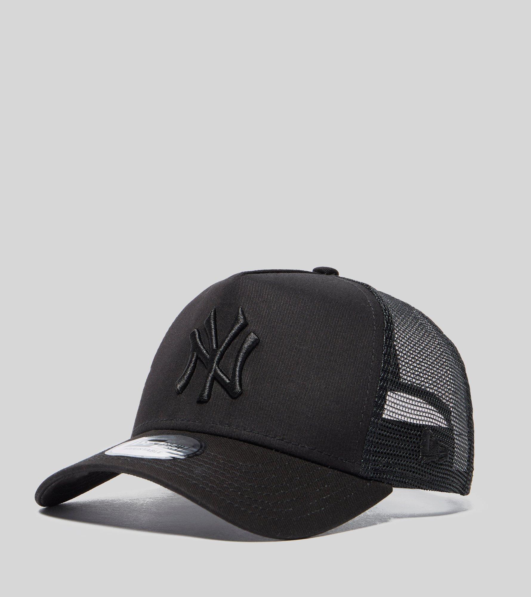 KTZ Mlb New York Yankees Snapback Trucker Cap in Black for Men ... 79e83ce1e3d9