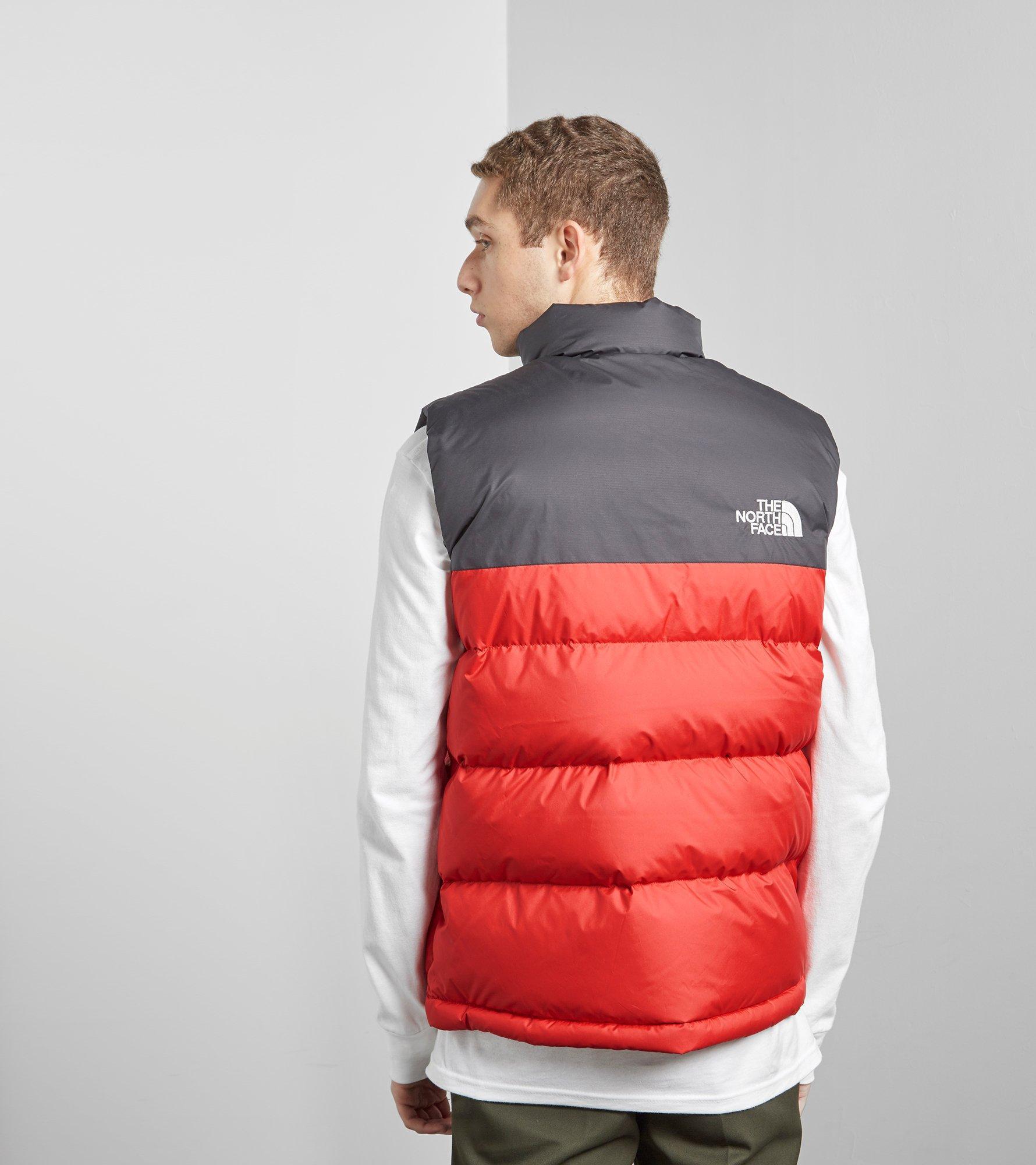 5e0249516 canada the north face m 1992 nuptse jacket red black cf1d8 1ea0e