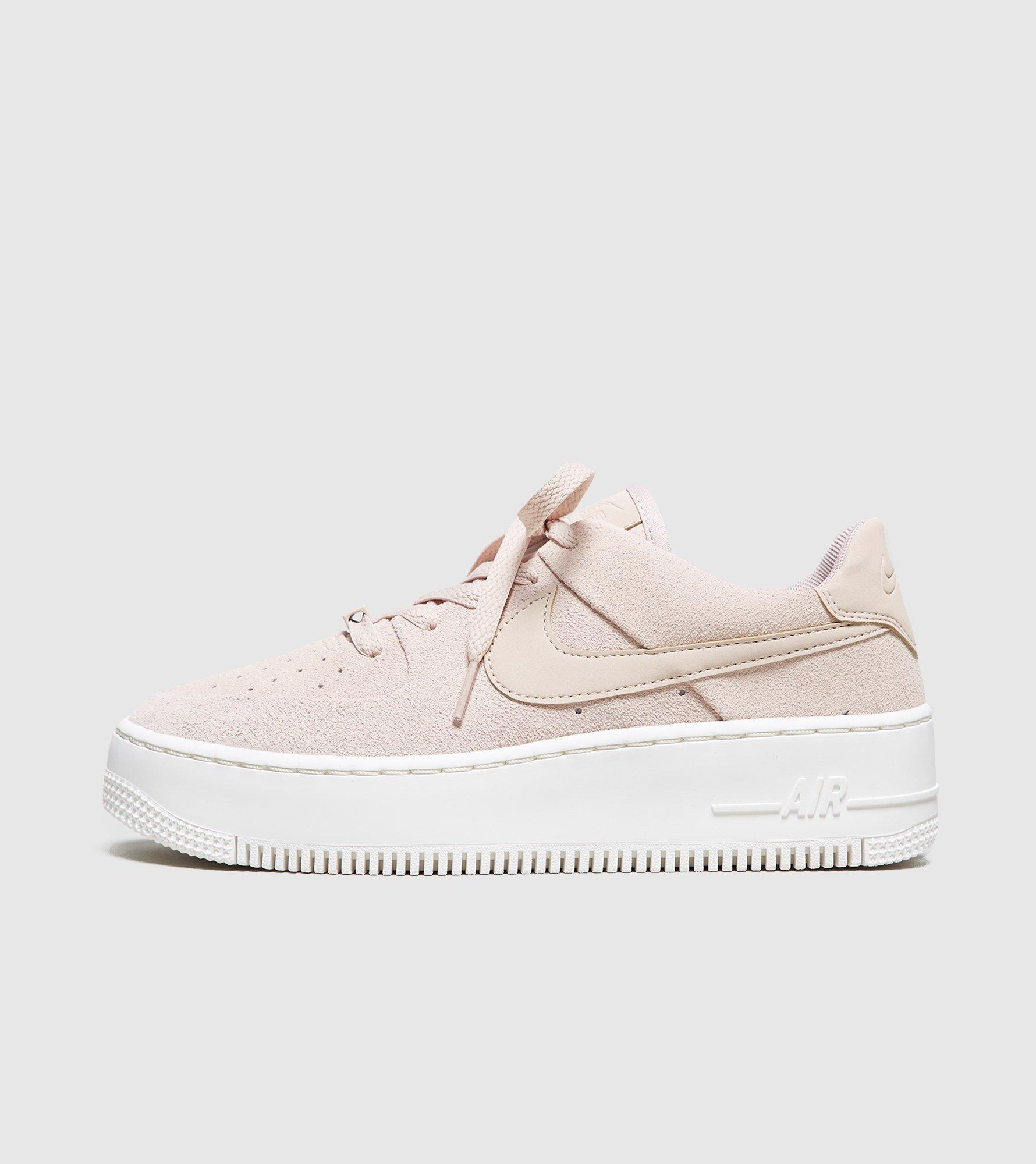 fbdfb7d69742 Lyst - Nike Air Force 1 Sage Low Women s in Natural