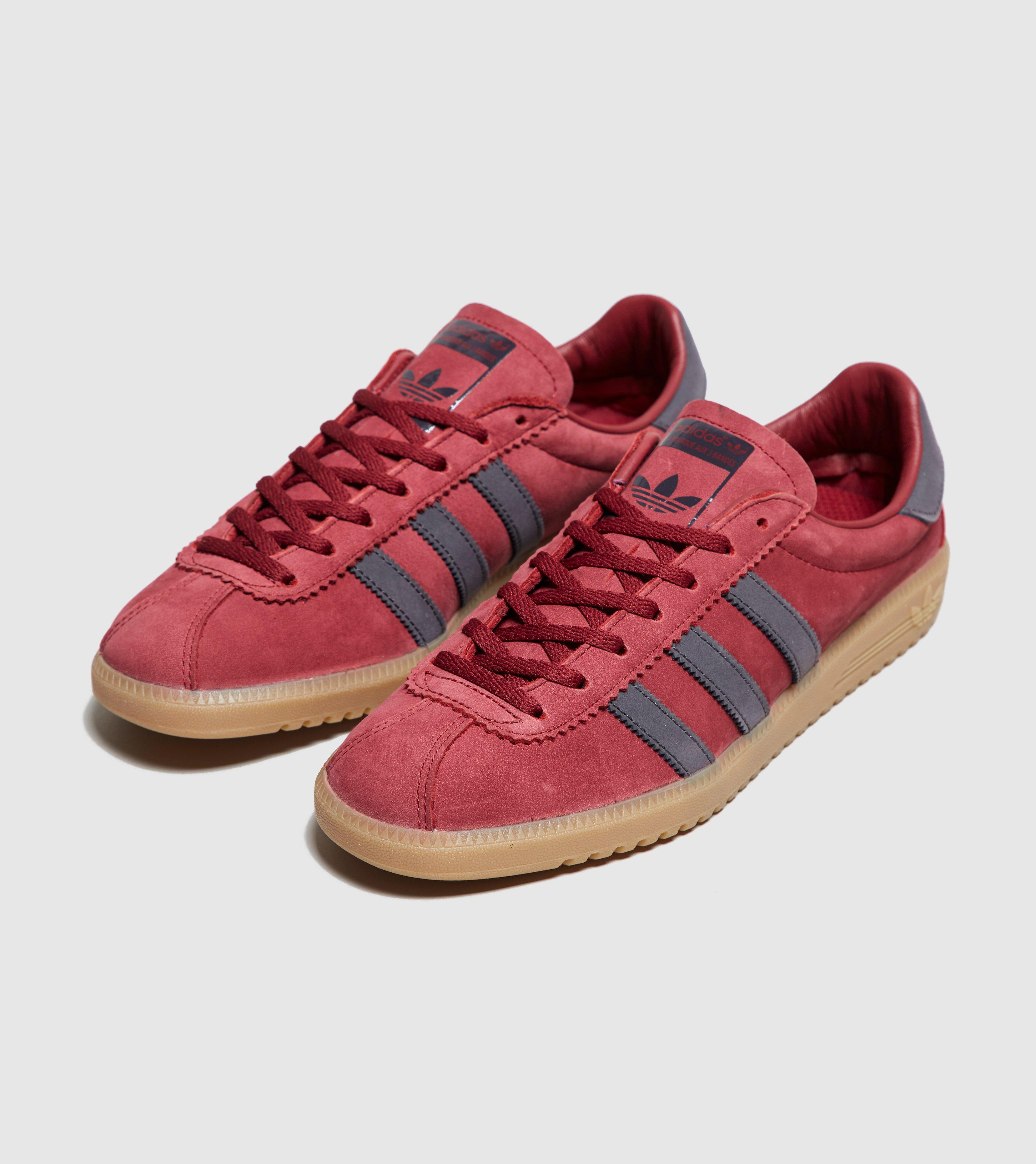 buy online e8710 00990 adidas Originals Bermuda in Red for Men - Lyst