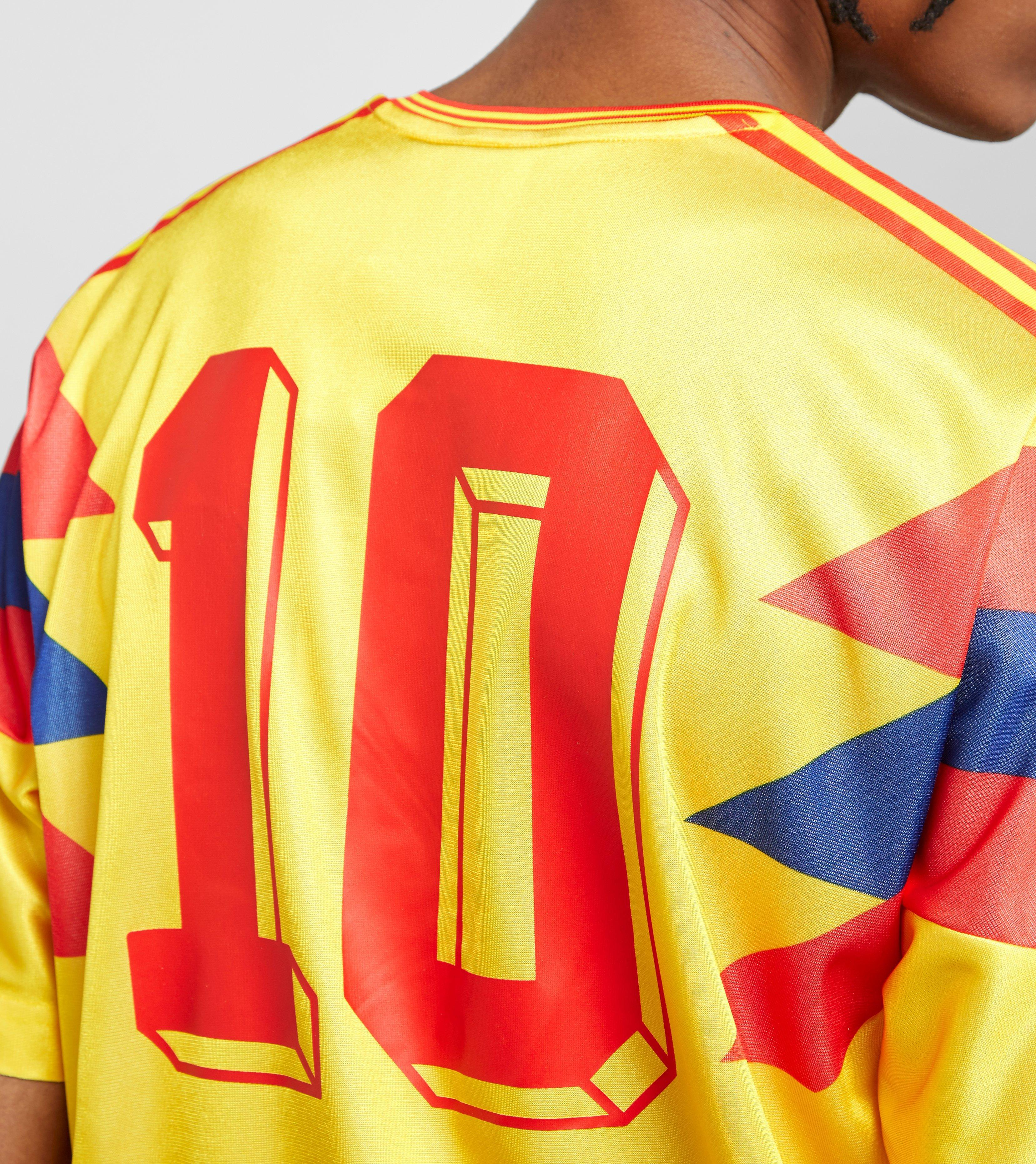 bfbc363f8 adidas Originals Colombia 1990 Football Jersey in Yellow for Men - Lyst