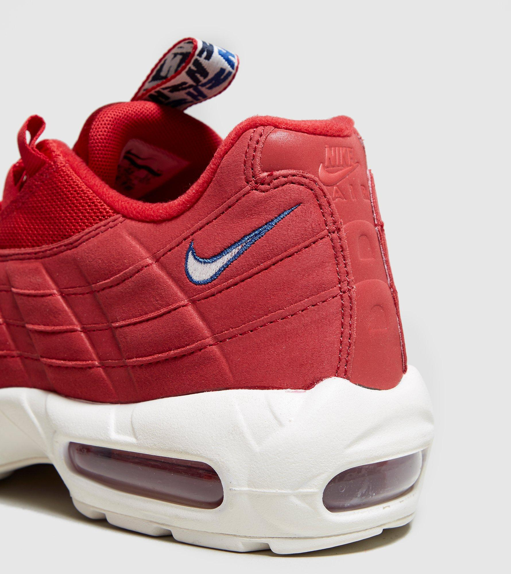 3866260aaf9 Nike Air Max 95 Tape in Red for Men - Lyst