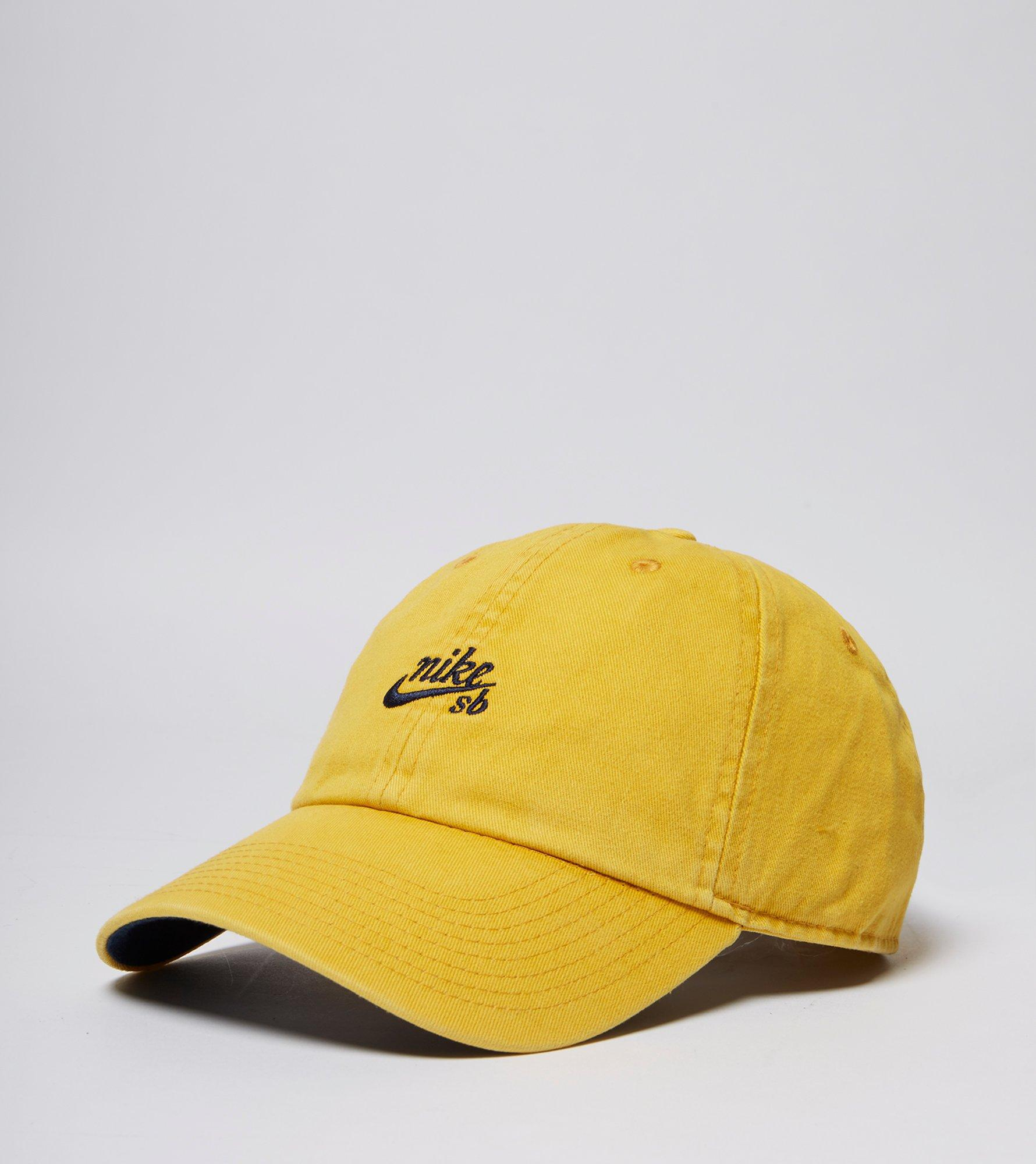 86048e0633cf0 ... best price lyst nike logo cap in yellow for men a5d81 7dfac