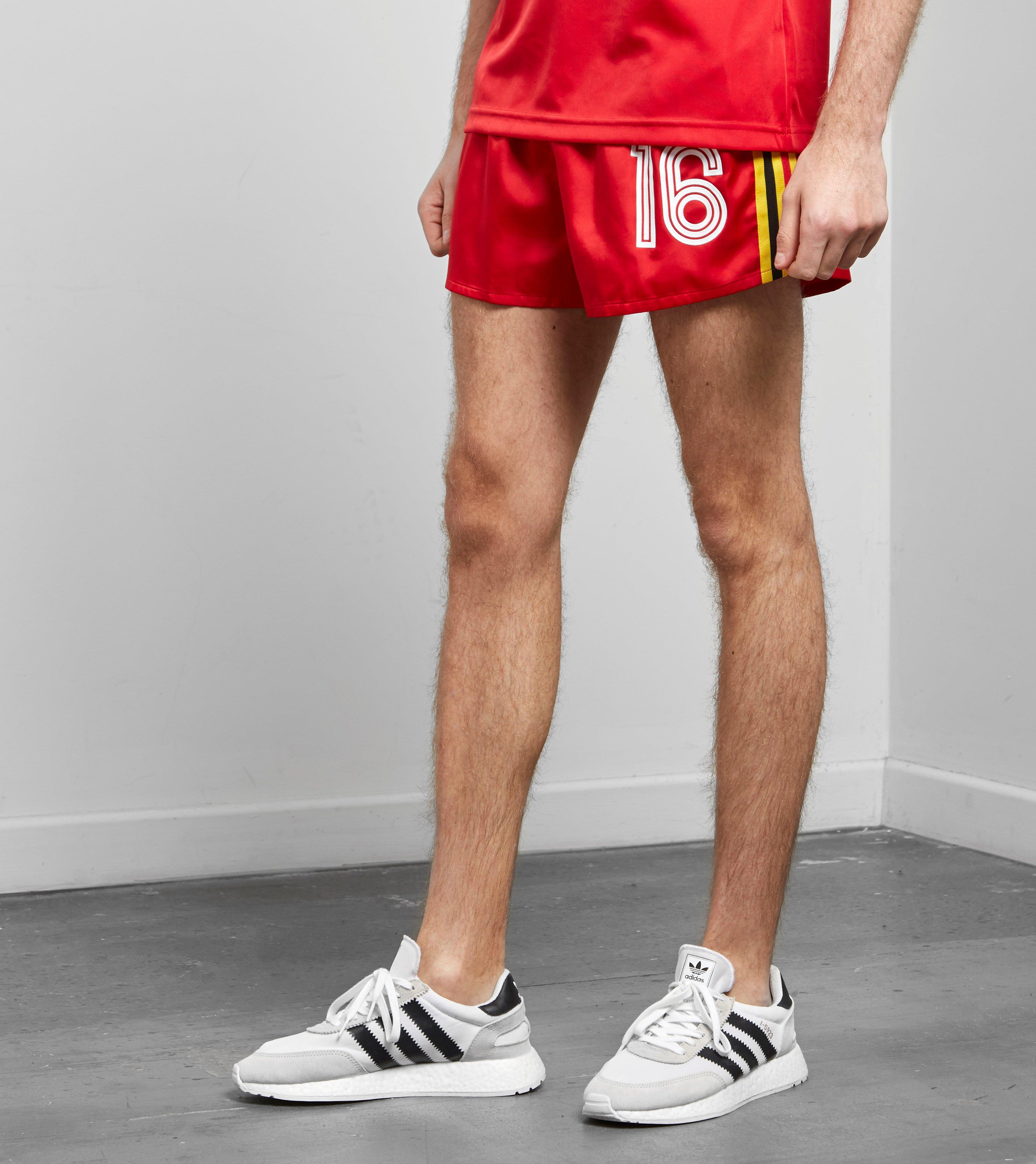 release date a4813 6c9b9 adidas Originals Belgium 1984 Shorts in Red for Men - Lyst