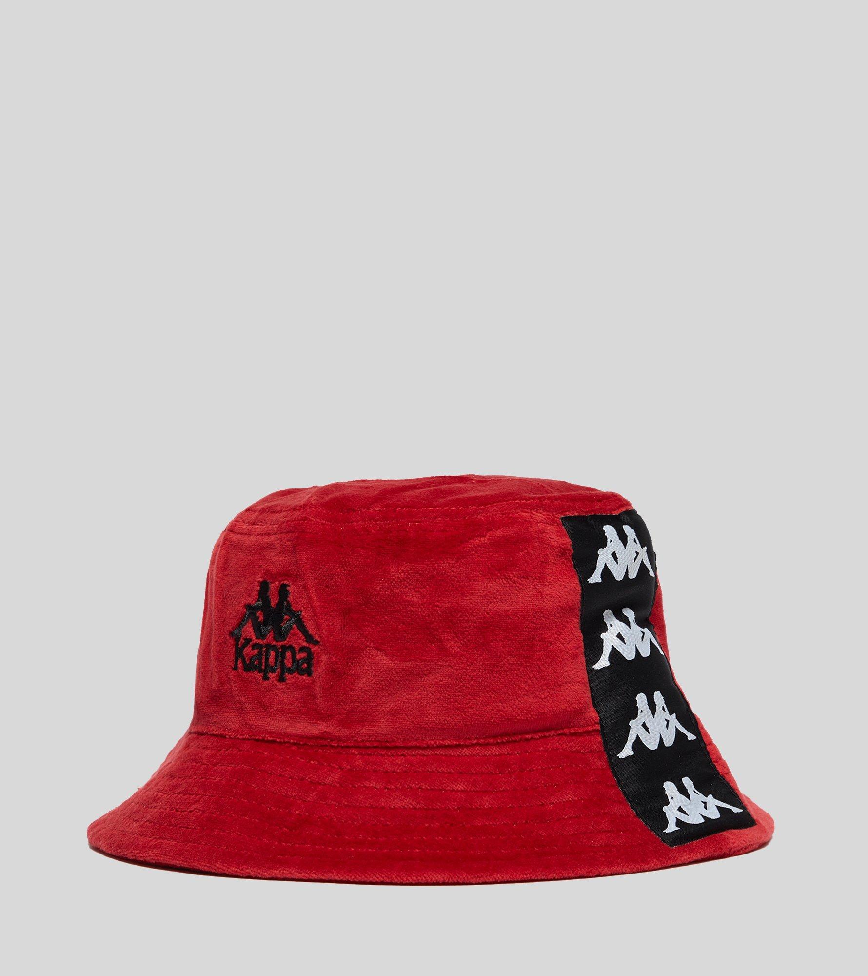 newest 0127a 211a8 ... best price kappa. red ayumen bucket hat 68860 91c44