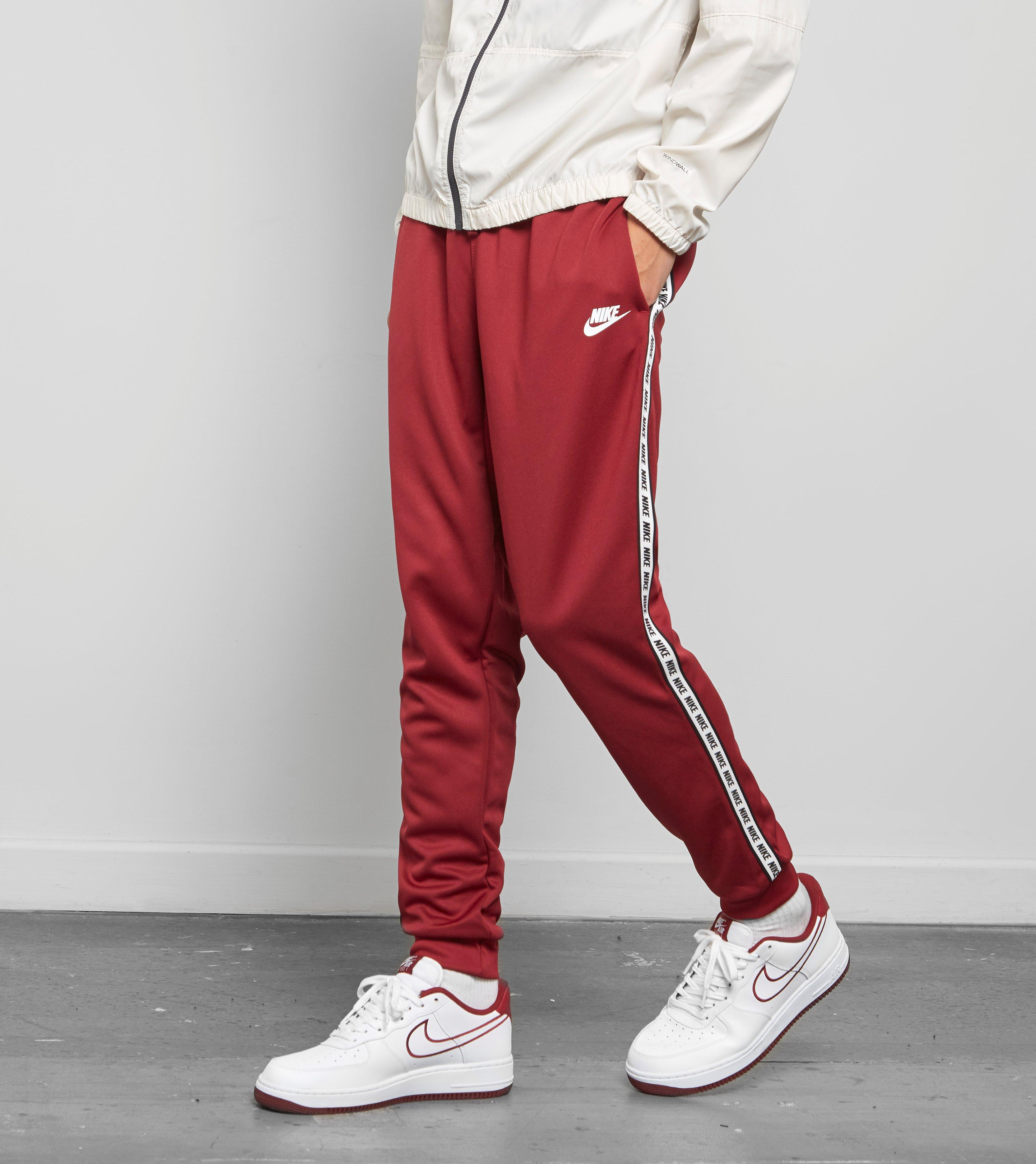 a7cff64c2cd Nike Gel Tape Cuffed Track Pants in Red for Men - Lyst