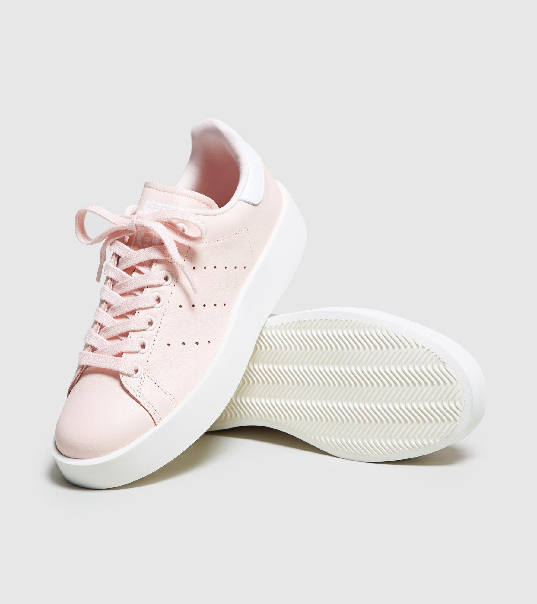 buy online 7893a 6ad73 ... authentic lyst adidas originals stan smith bold womens in pink d8227  1de92