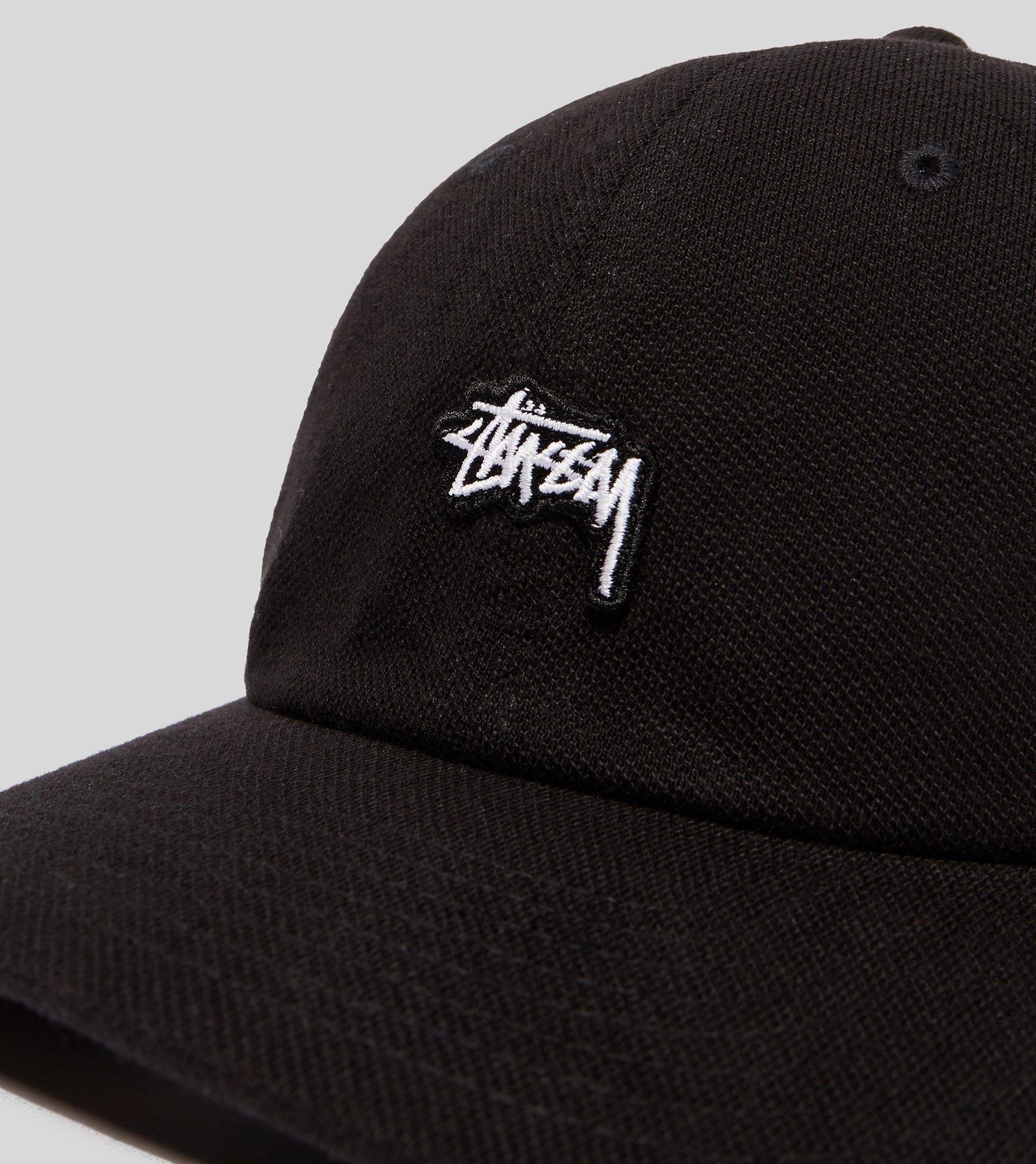 Lyst - Stussy Stock Pique Snapback Cap in Black for Men e1754cd3d58