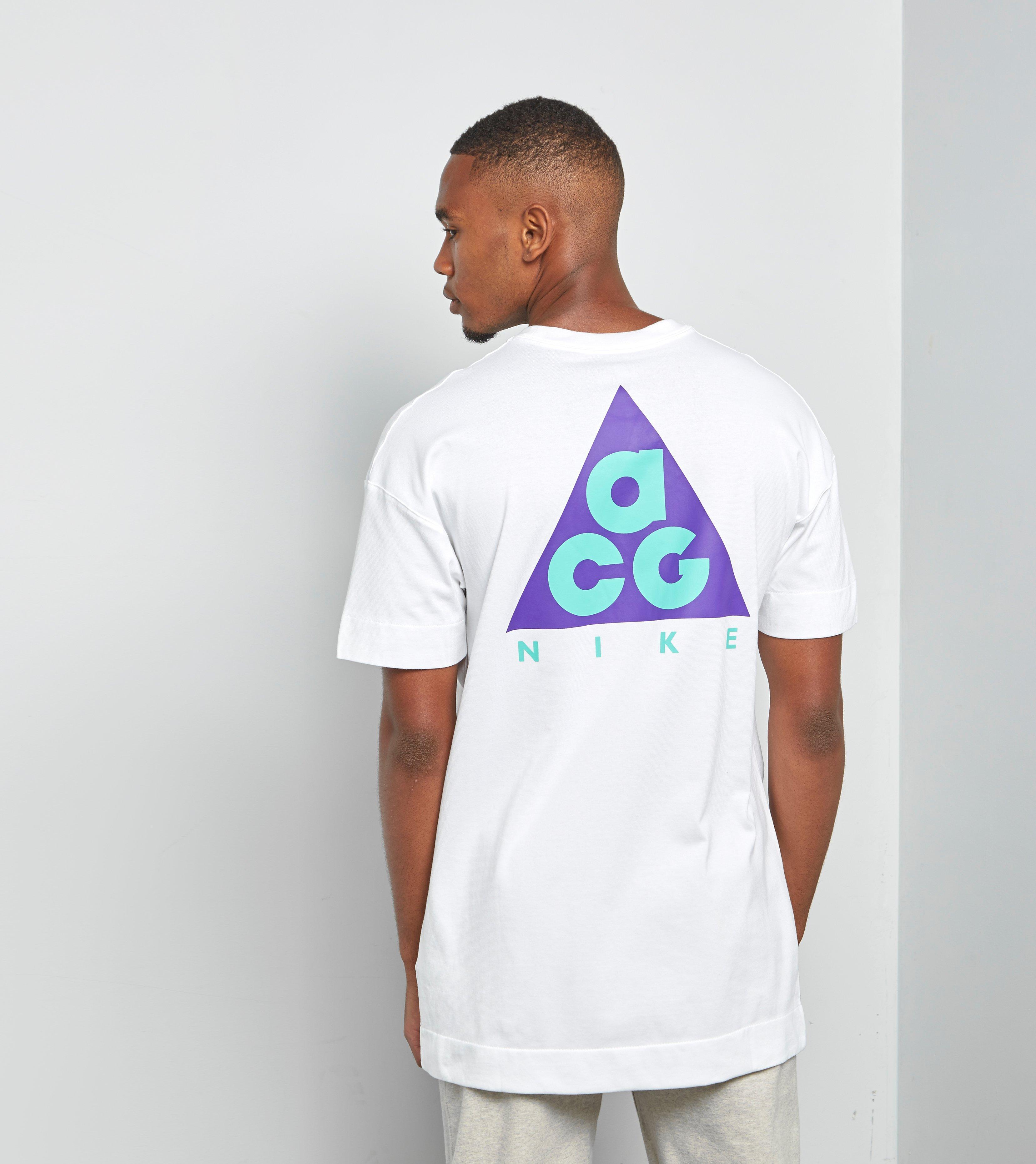 2018SS NIKE ACG Tee Nike ACG T shirt AO4644 451 color: NAVY size: XL