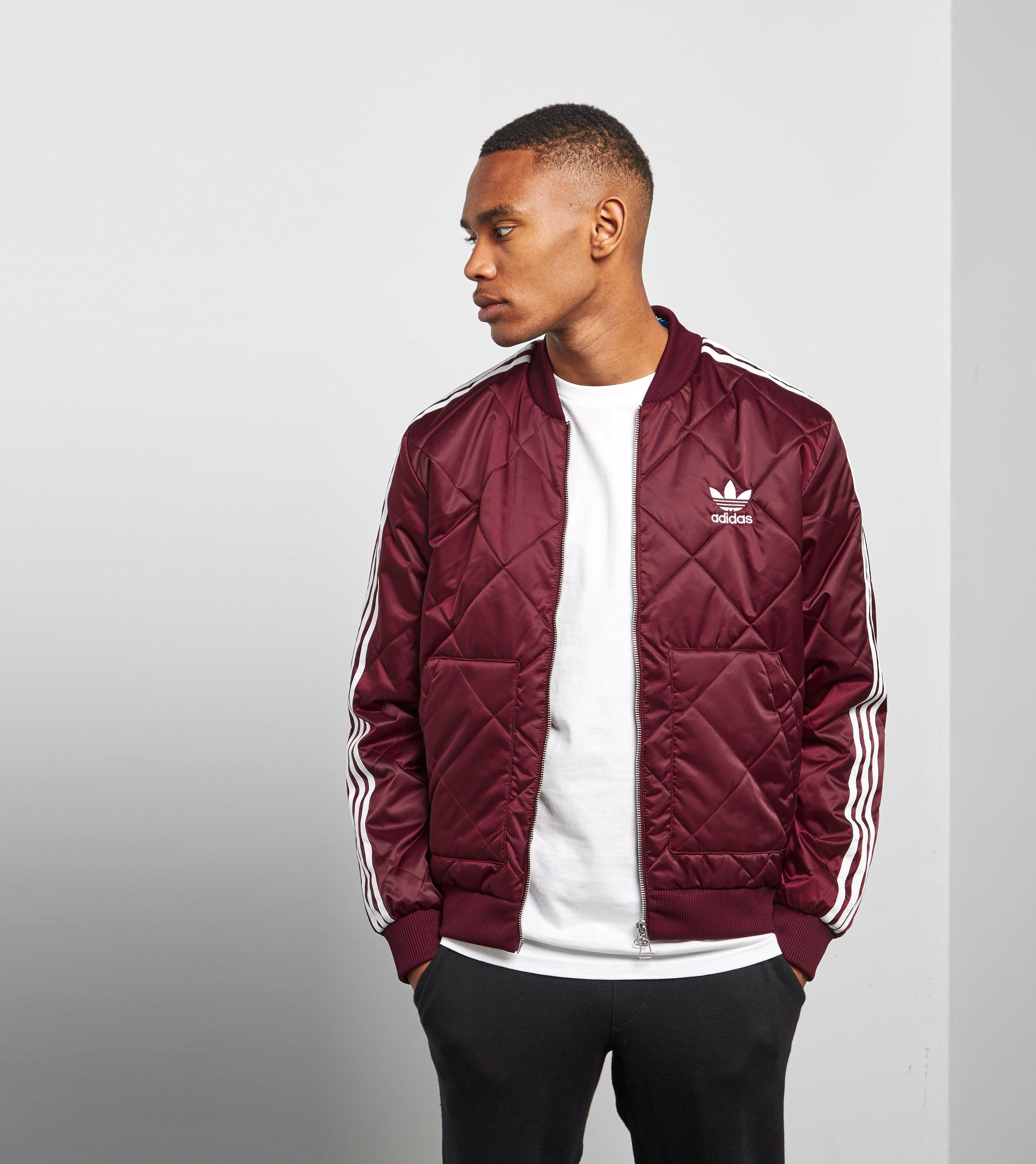 c7c5f74bb6 adidas Originals Sst Quilted Jacket in Red for Men - Lyst