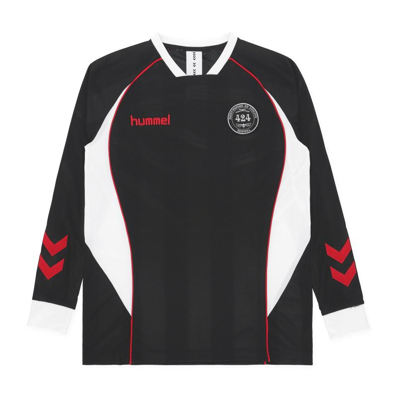 Hummel 424 Fourtwofour Footbal Jersey in Black for Men - Lyst 0c415ae2a7