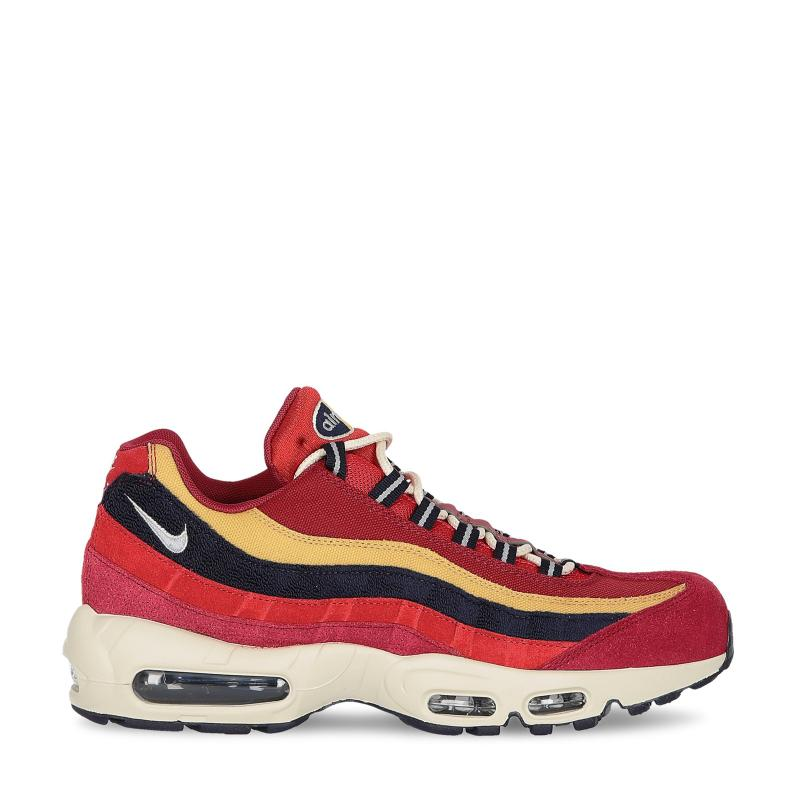 a6848e946319 Nike Air Max 95 Premium Red Crush provence Purple in Red for Men - Lyst