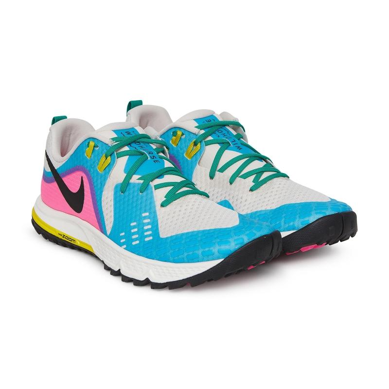 a1804ebe0 Nike Air Zoom Wildhorse 5 Mesh Sneakers in Blue - Lyst