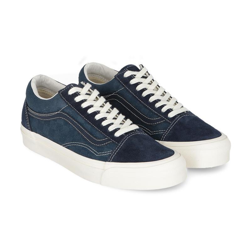 bef4dd1336 Vans - Blue Ua Og Old Skool Lx Vault Sneakers for Men - Lyst. View  fullscreen